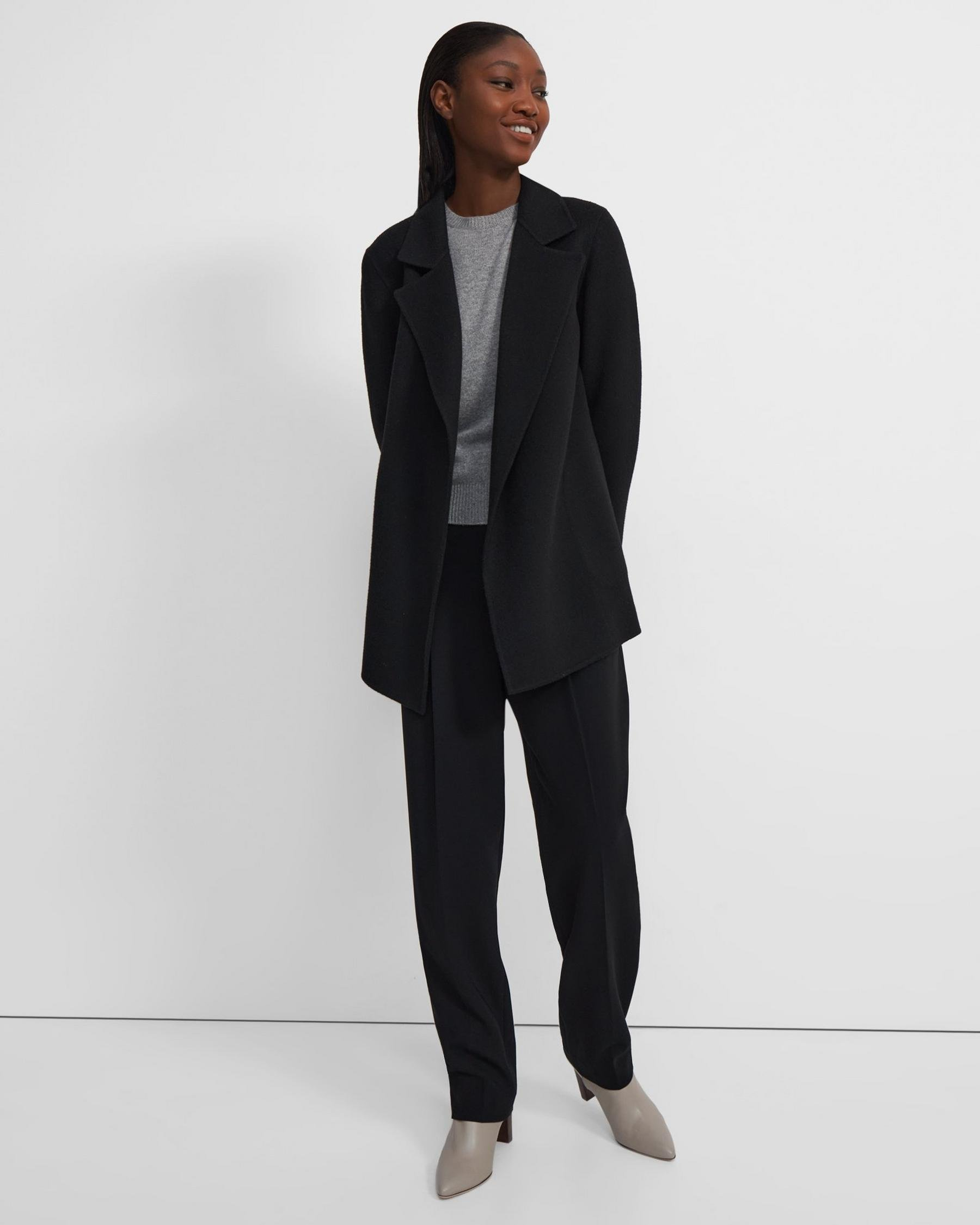Clairene Jacket in Double-Face Wool-Cashmere