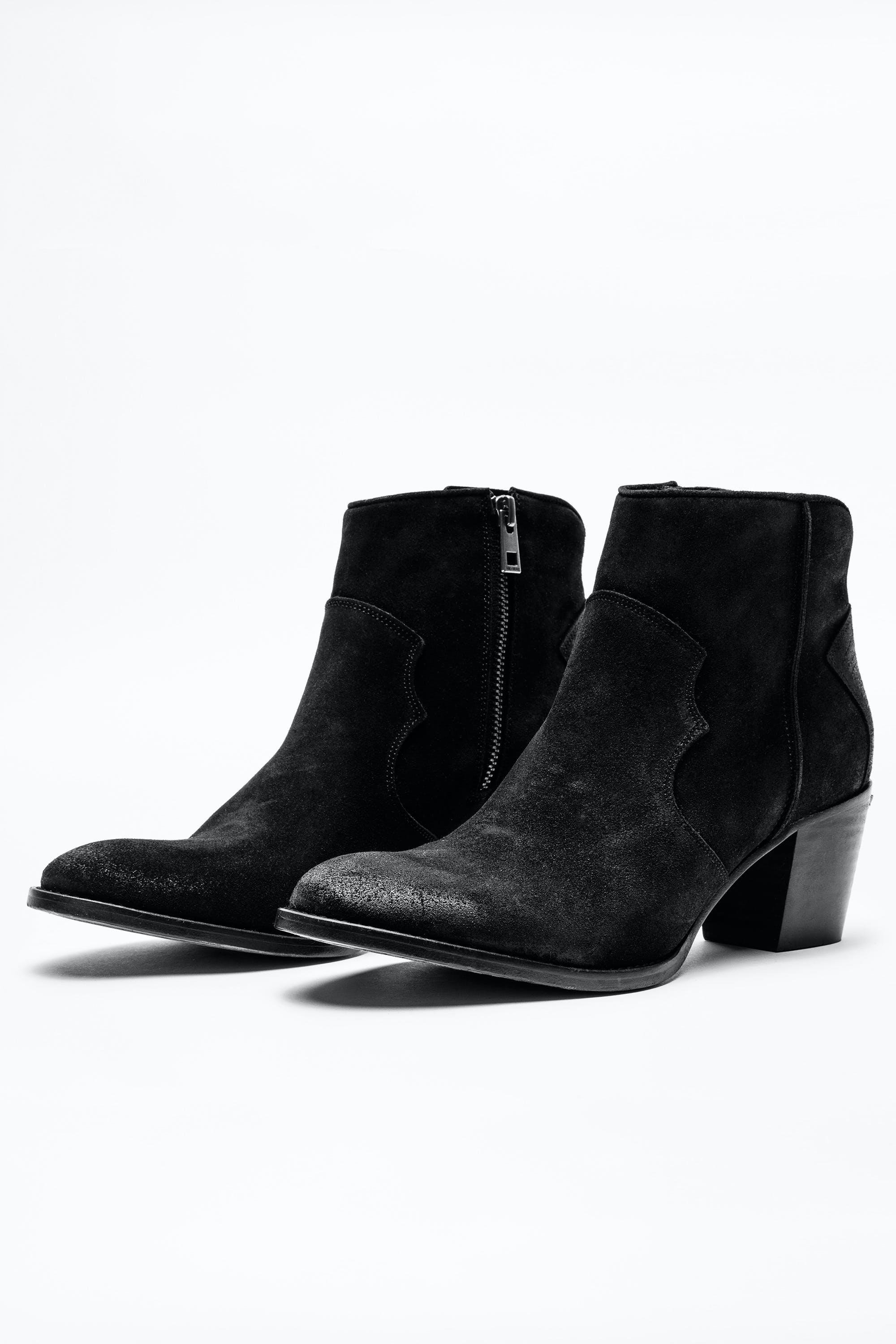 Molly Suede Boots 1