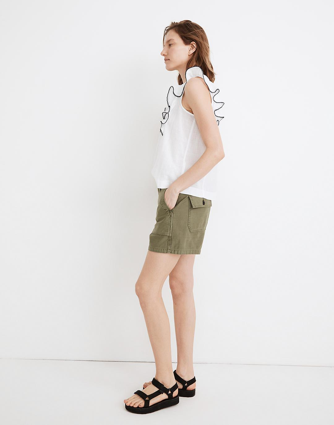 Relaxed Military Shorts 1