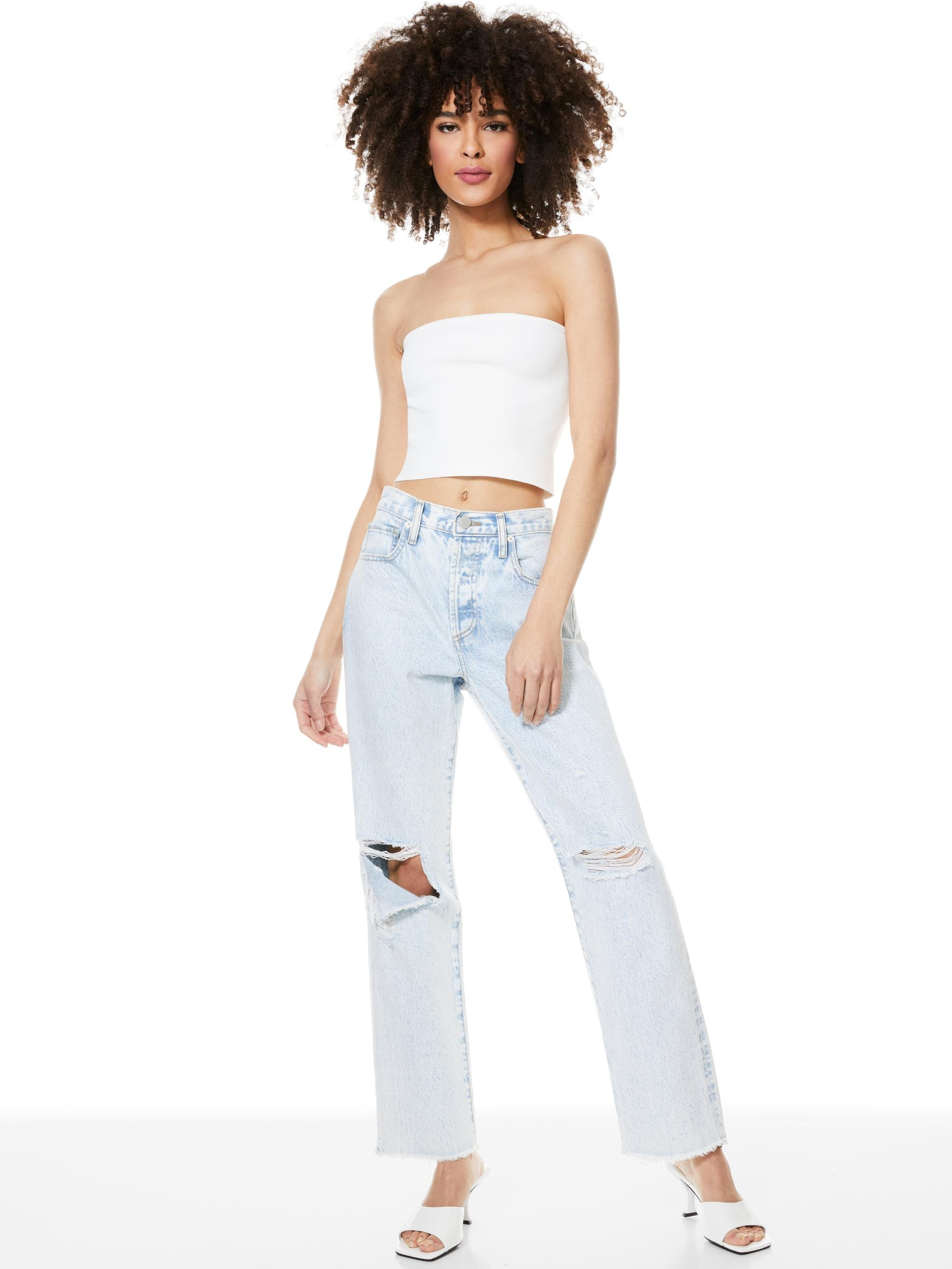 ALISON CROPPED TUBE TOP 2
