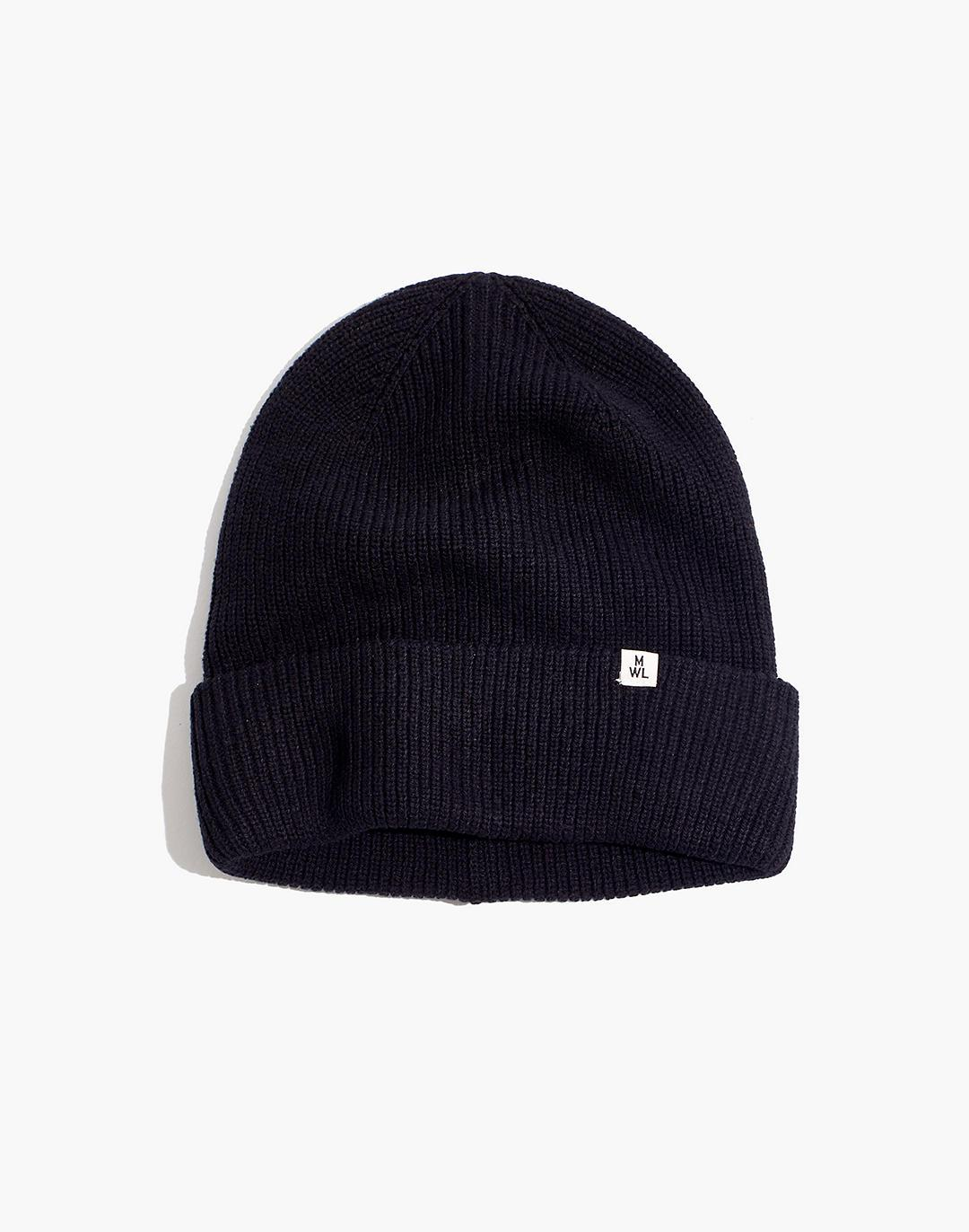 Recycled Cotton Cuffed Beanie
