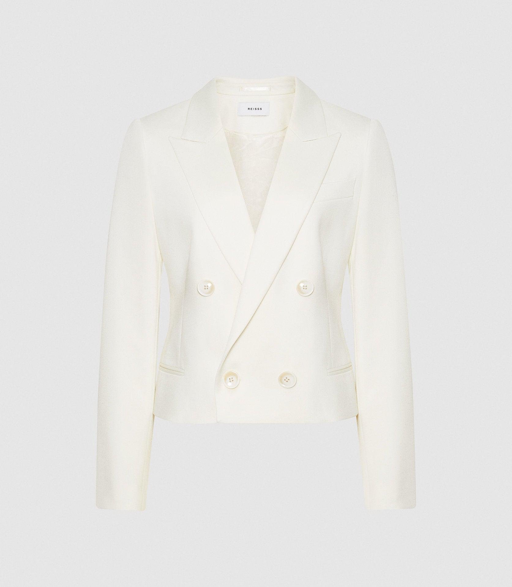 ALEIDA - CROPPED DOUBLE BREASTED BLAZER 4