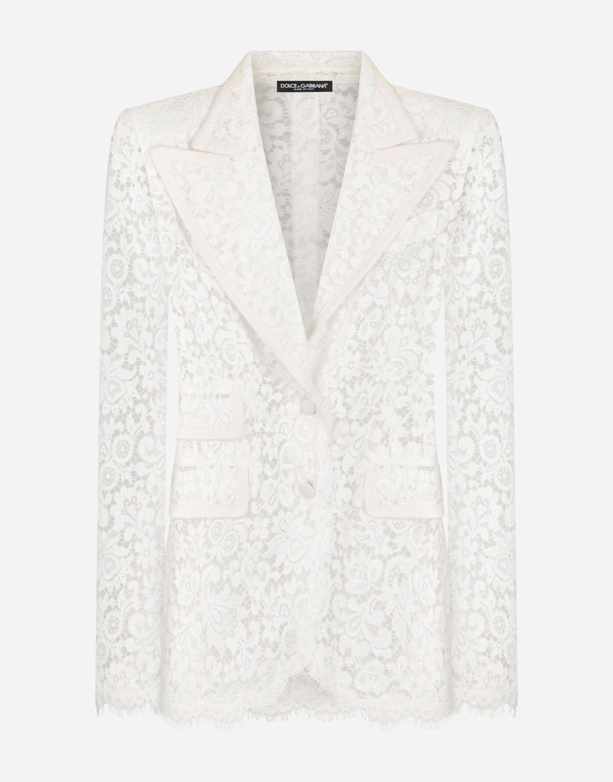 Lace jacket with edge detailing 4
