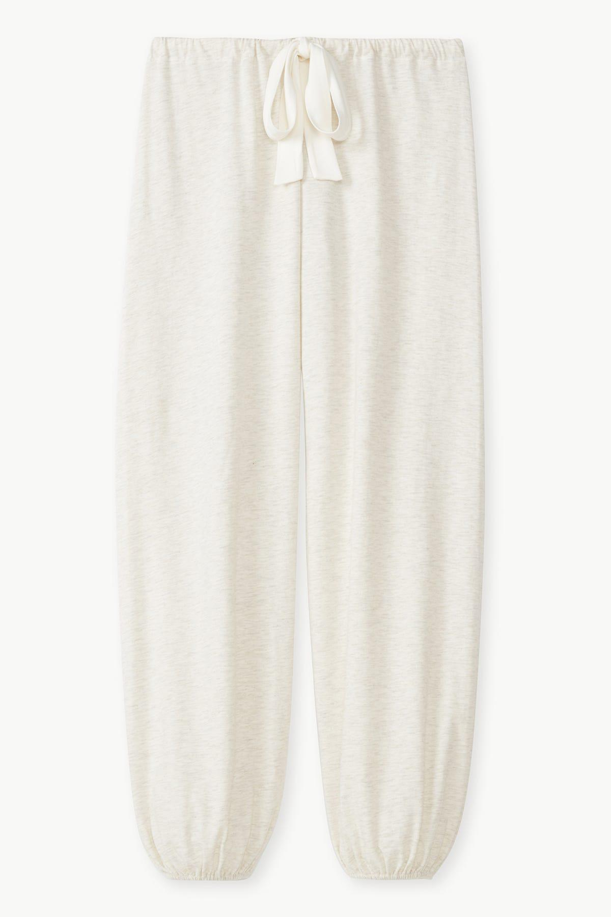 Heather Cotton Blend Cropped Pant 2