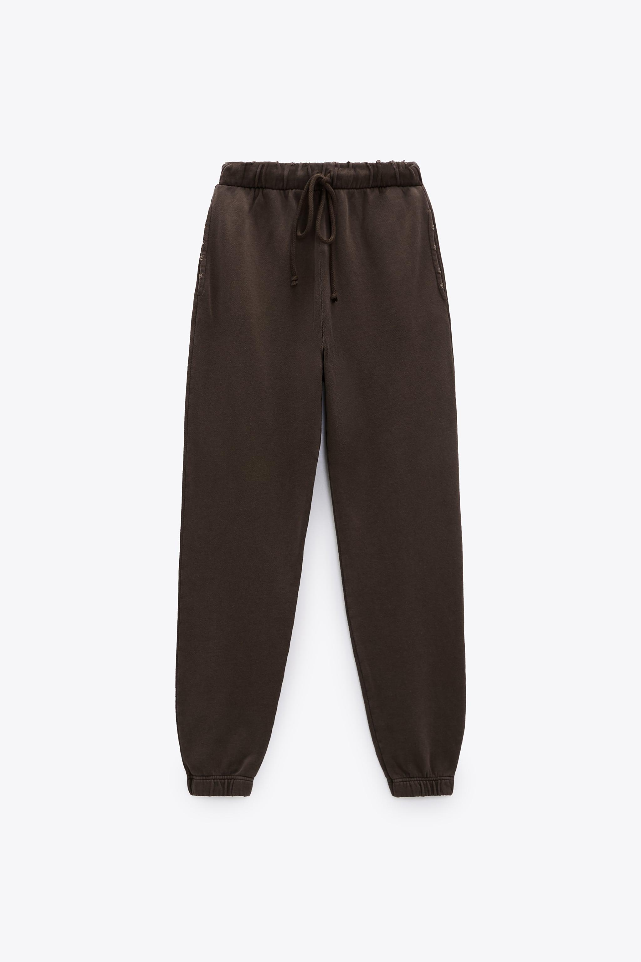 WASHED EFFECT JOGGER PANTS 2