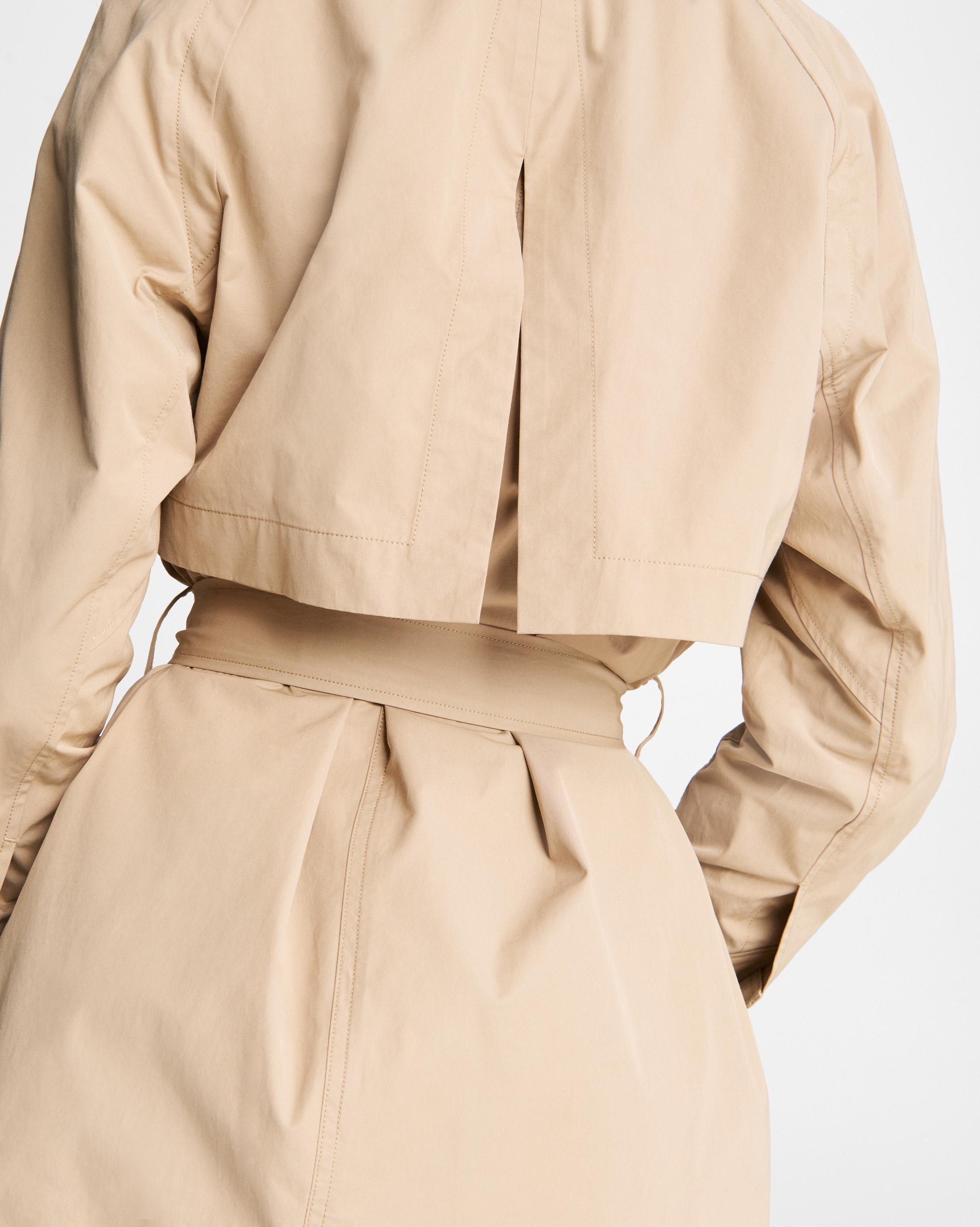 Classic cotton blend trench 4