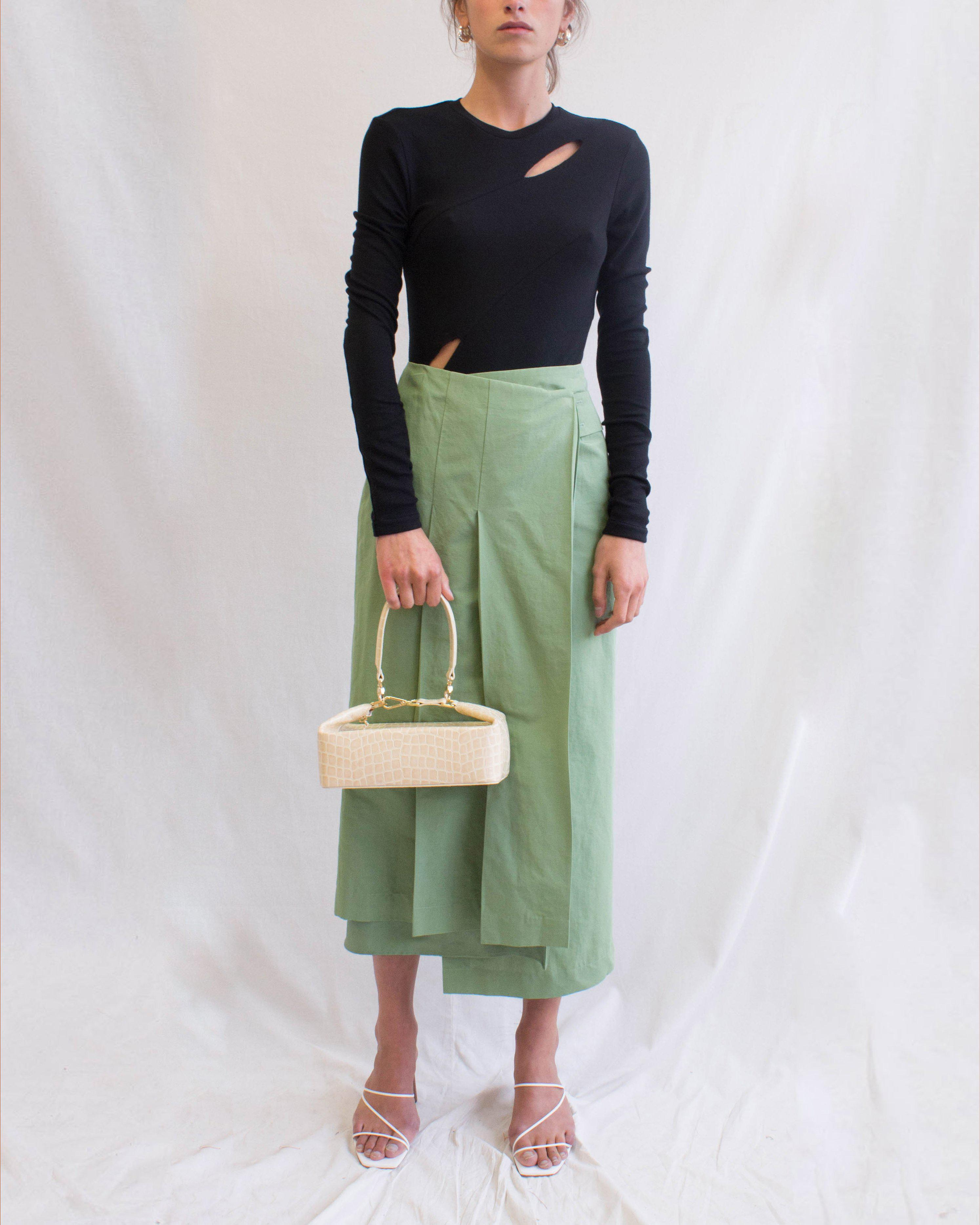 Cady Top Jersey Rib Black - SPECIAL PRICE
