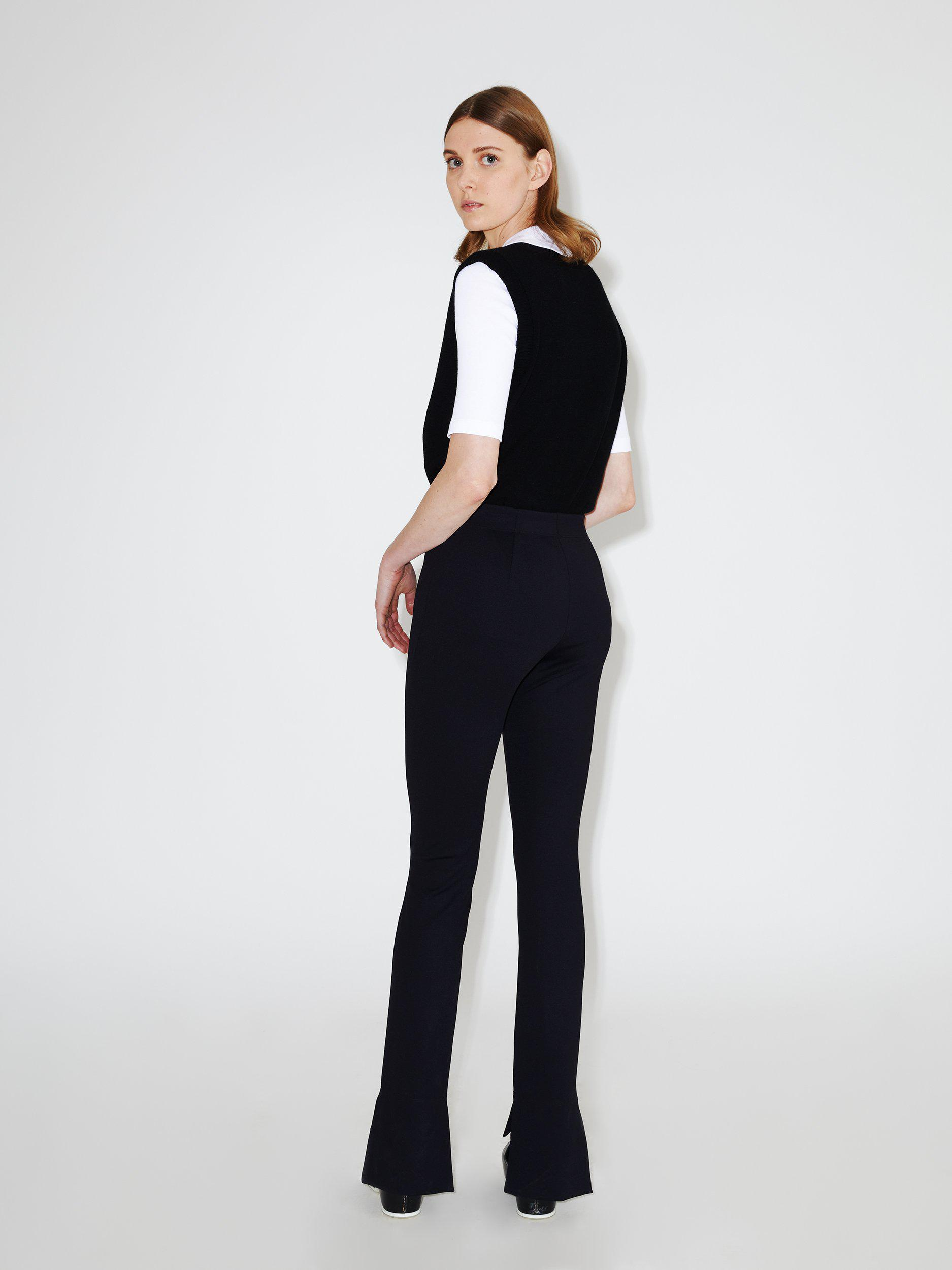 Skinny Cropped Front Pant 0