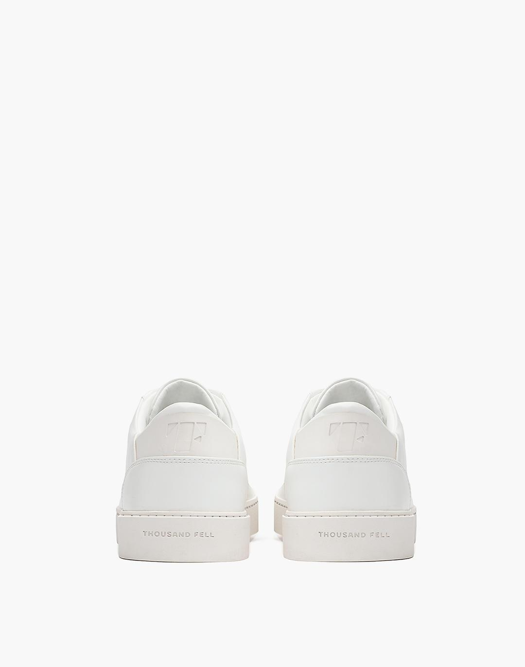 Thousand Fell Vegan Leather Lace-Up Sneakers 2