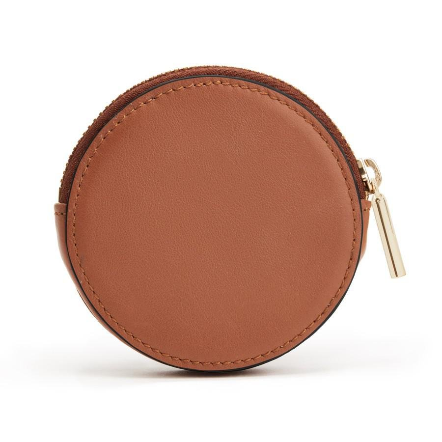 Women's Leather Coin Pouch in Caramel | Smooth Leather by Cuyana