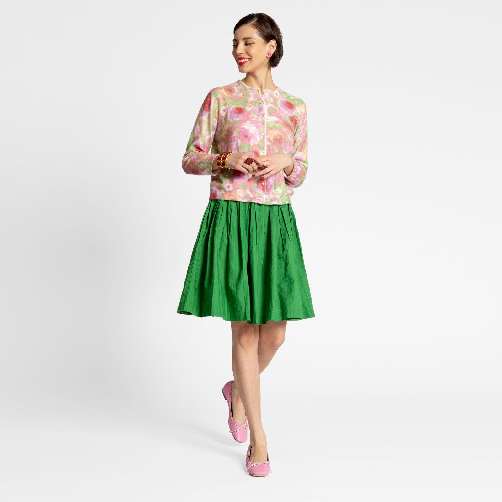 Claire Skirt Green 4