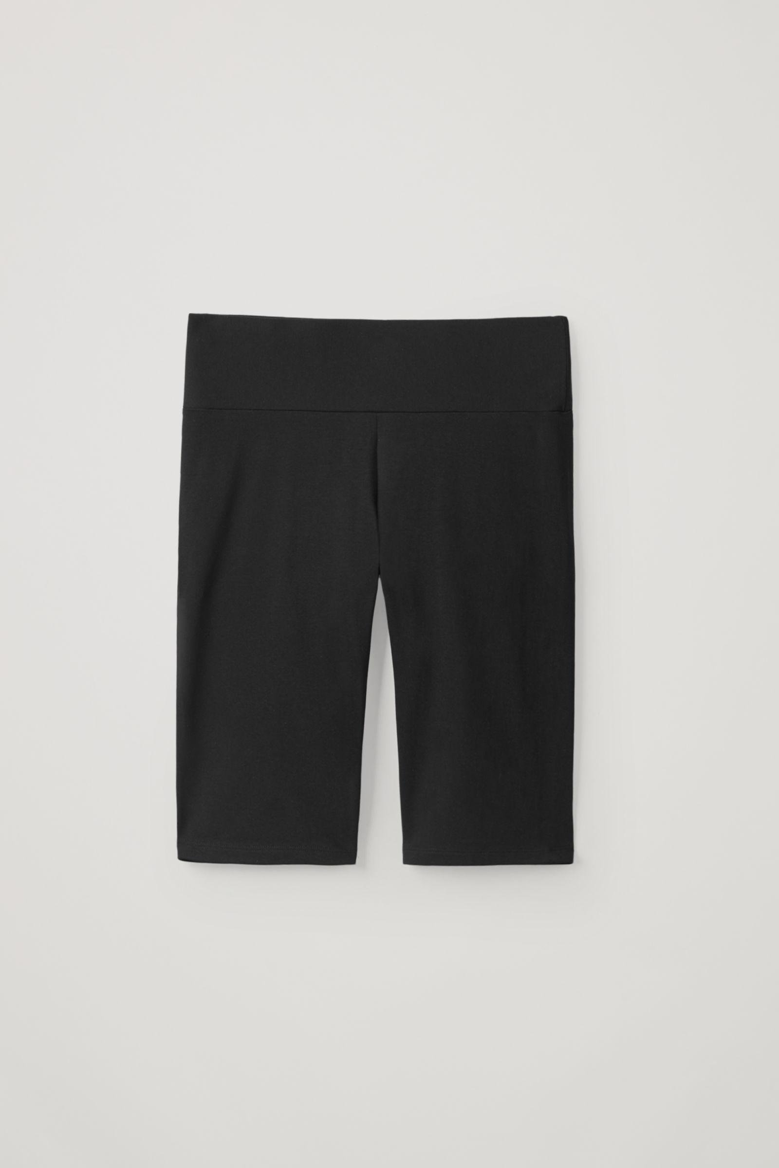 COTTON JERSEY SLIM-FIT SHORTS 4