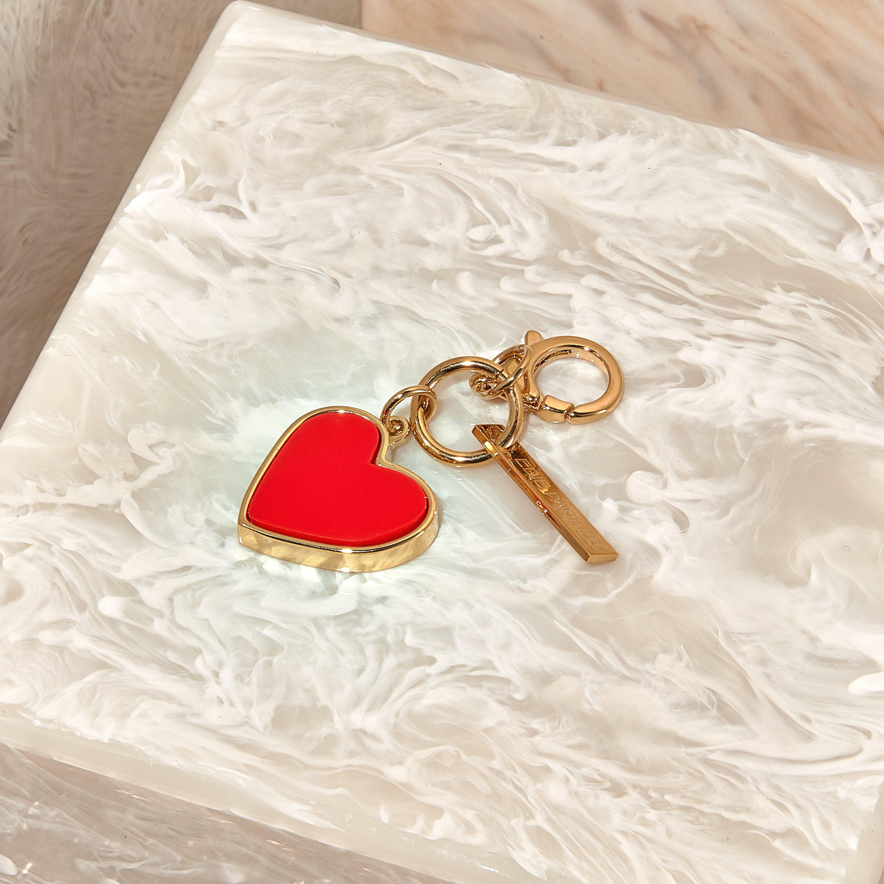 Heart Charm in Red