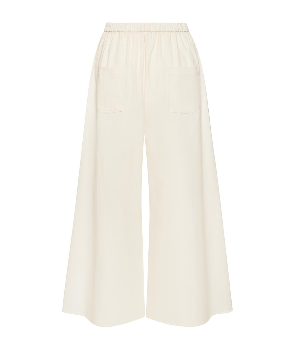 The Twill Wide Leg Pant 4