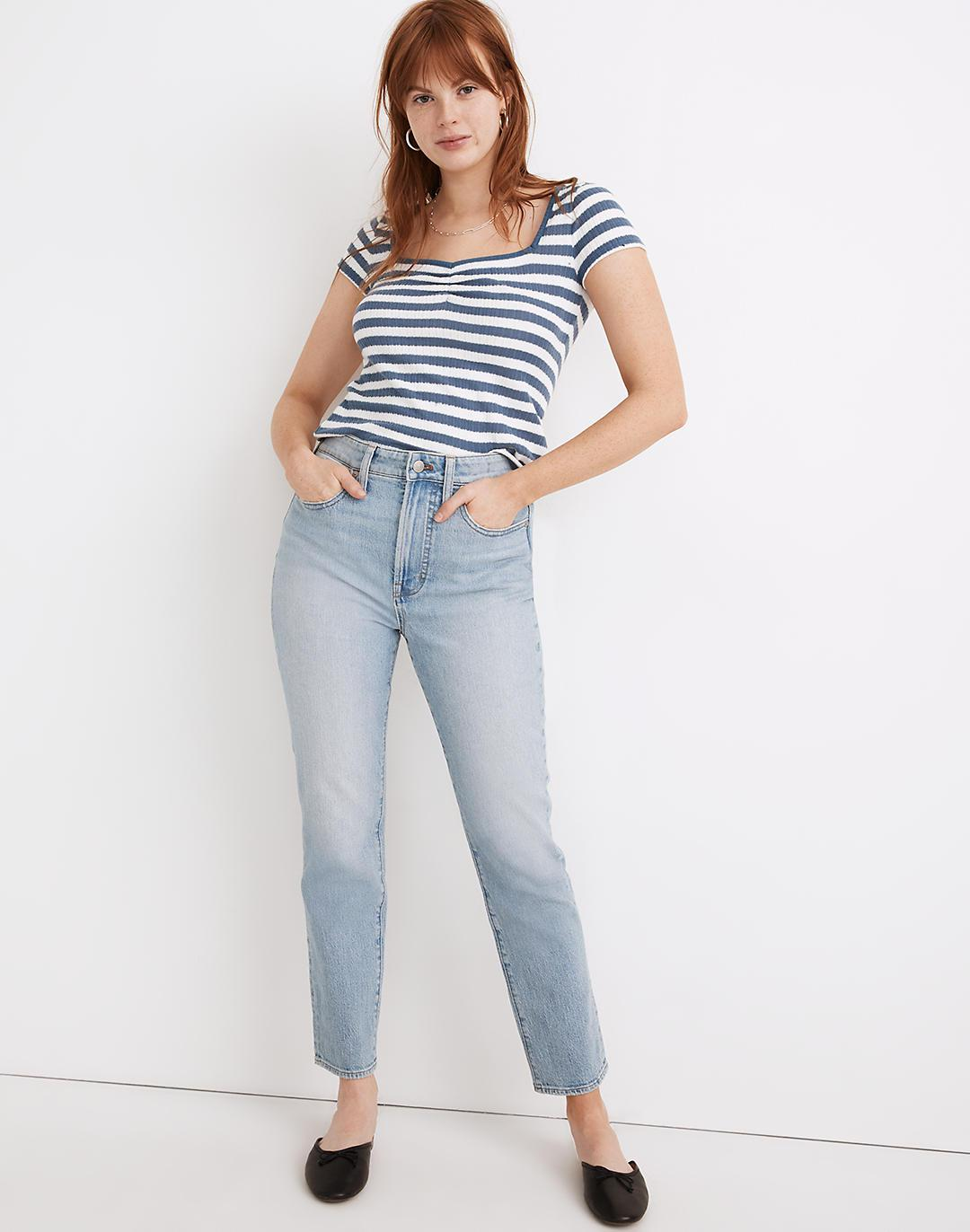 The Tall Curvy Perfect Vintage Jean in Fiore Wash