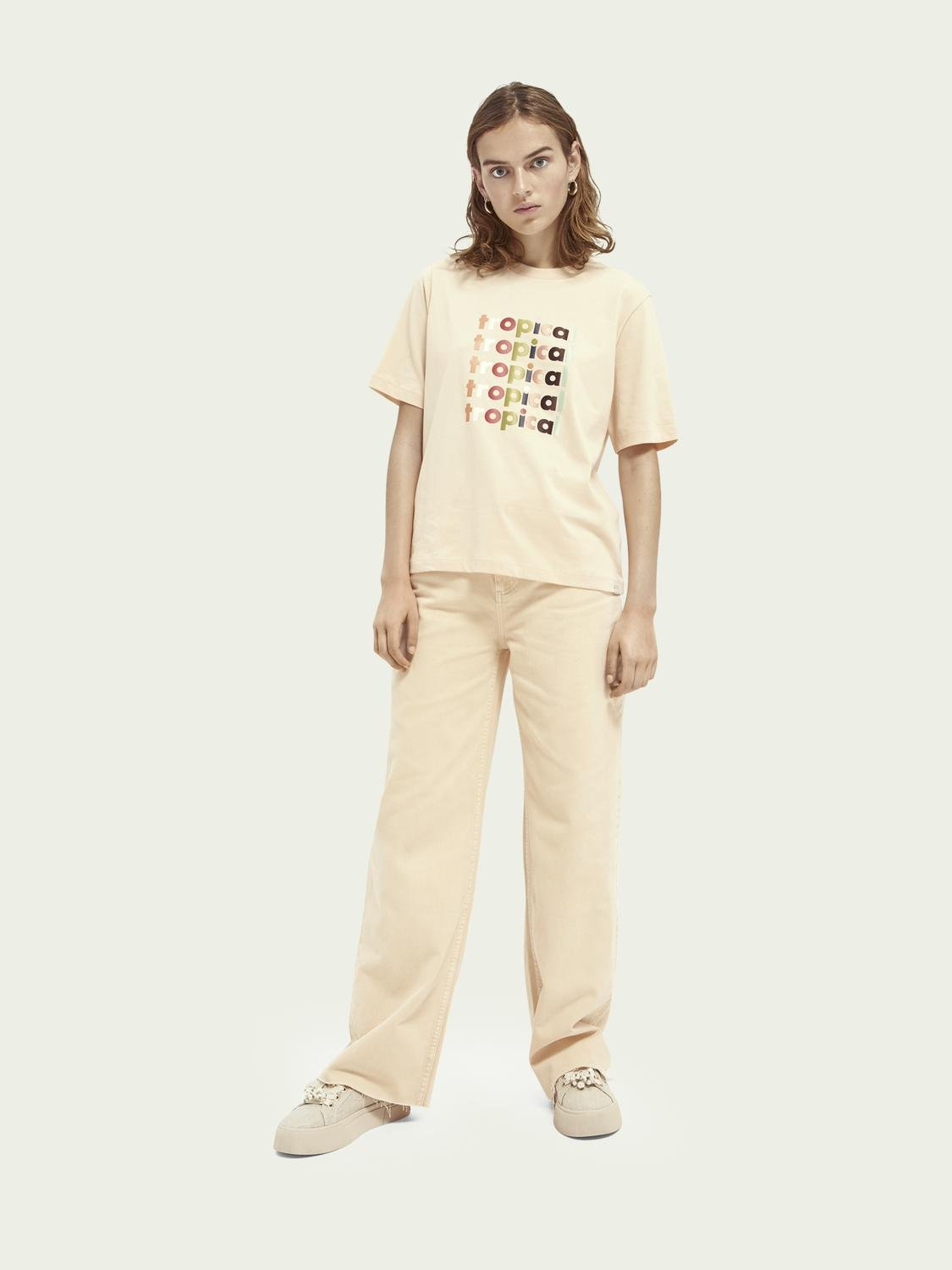 Boxy fit graphic T-shirt 1