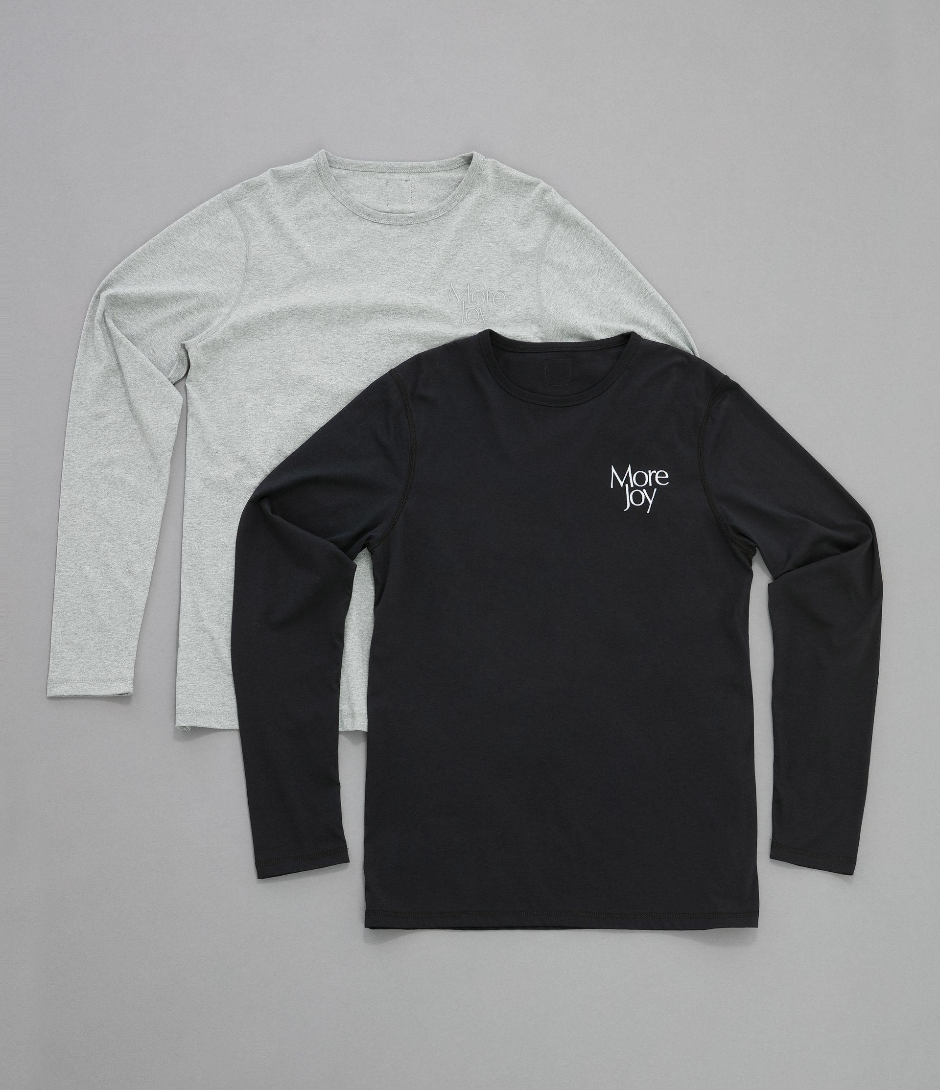 More Joy embroidered long sleeve t-shirt (2 pack)  6