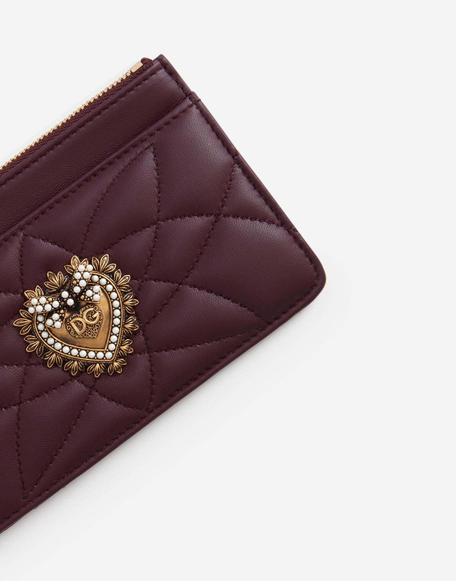 Devotion card holder with zip 3