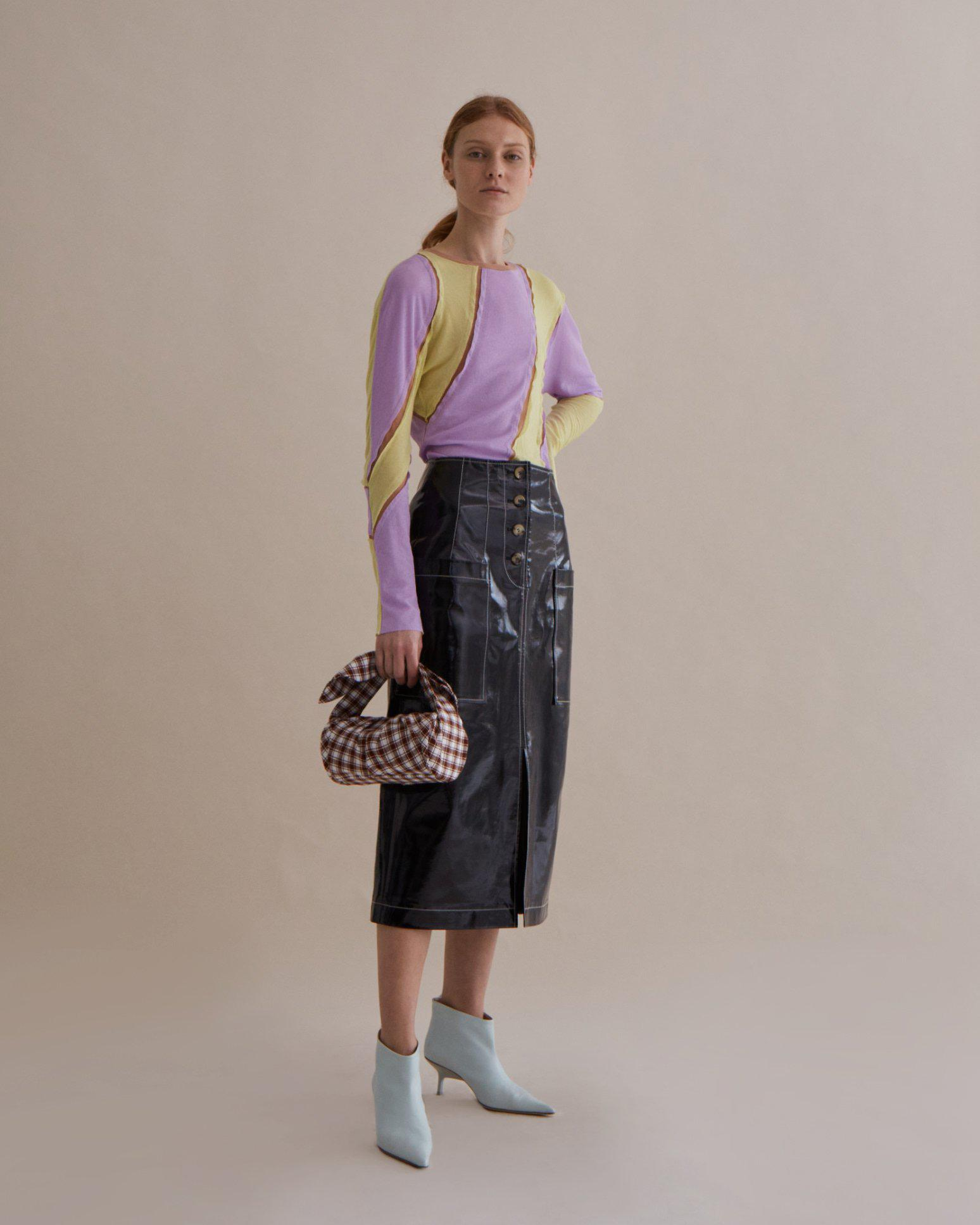Reese Top Jersey Lilac and Yellow Mix - SPECIAL PRICE