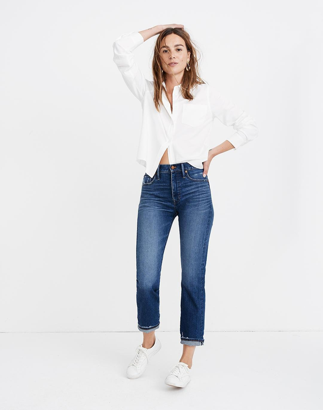 Tall Classic Straight Jeans: Selvedge Edition