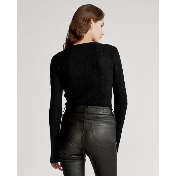 Cable-Knit Cashmere Sweater 1