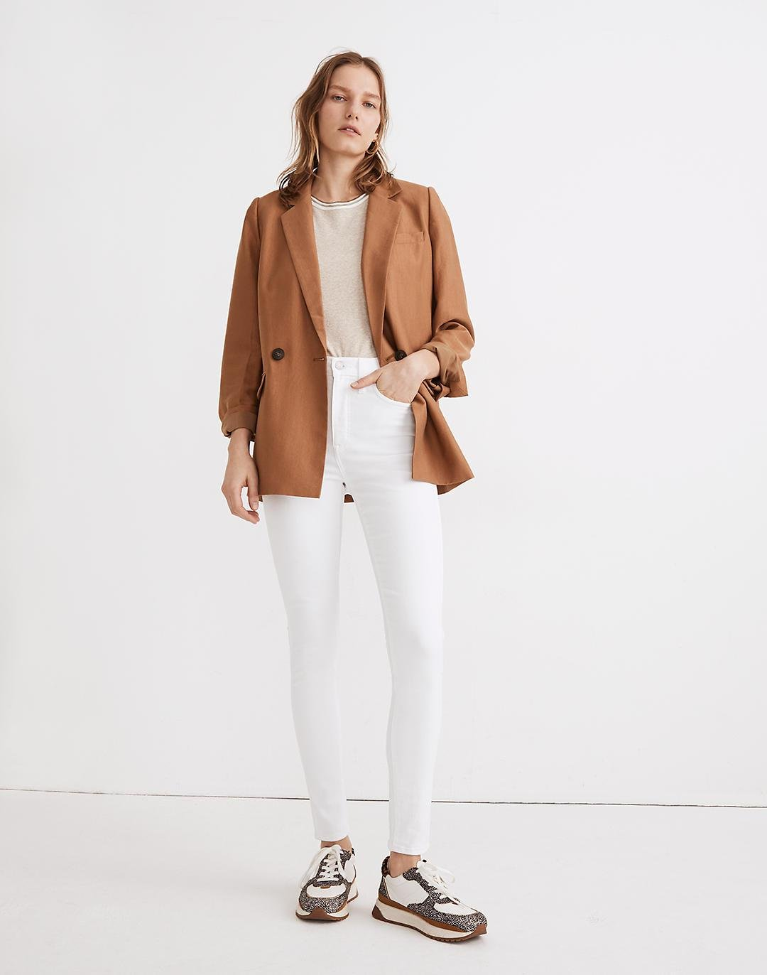 Caldwell Double-Breasted Blazer: Two Button Edition