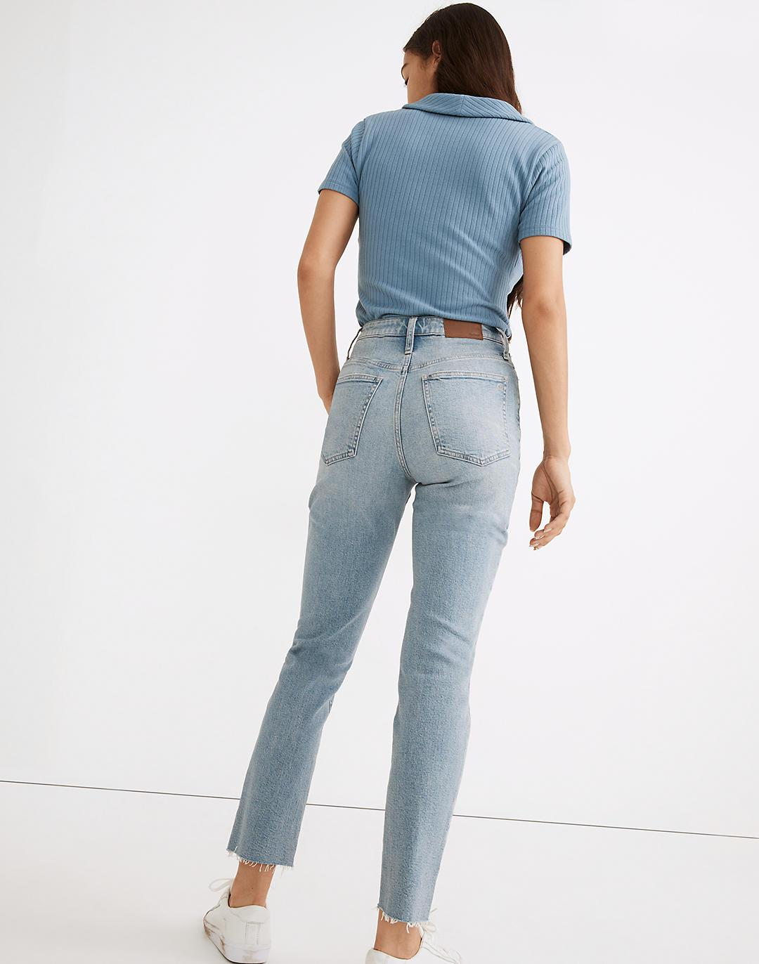 The Tall Curvy Perfect Vintage Jean in Ellicott Wash