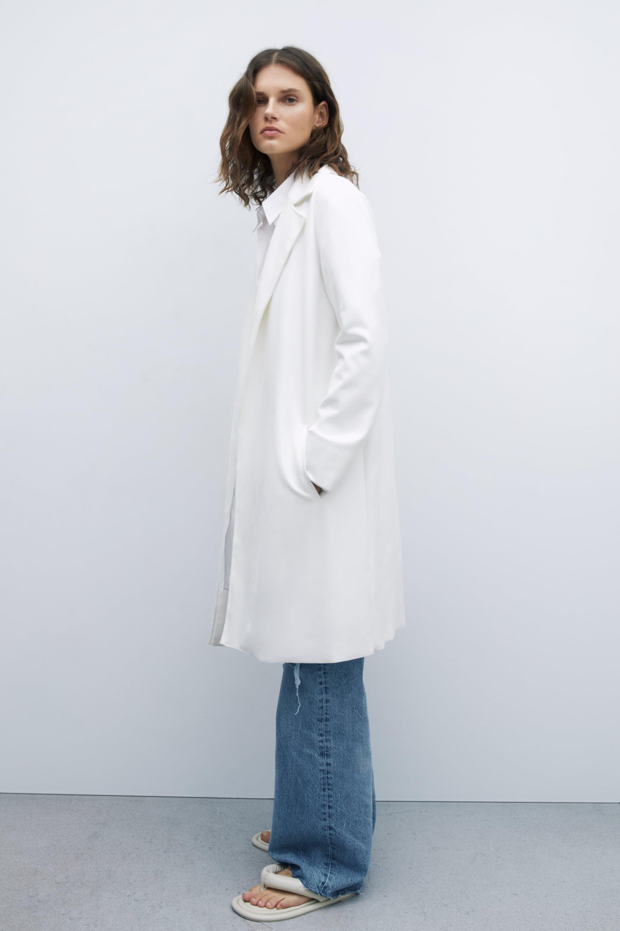FAUX SUEDE TWILL COAT 3