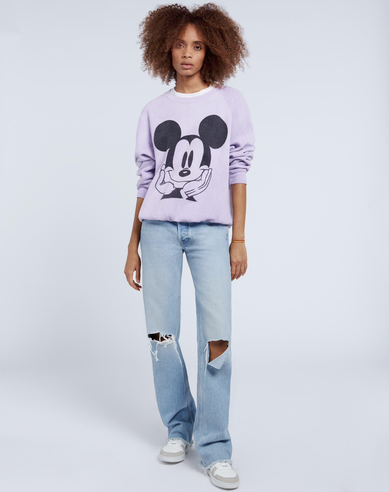 High Rise Loose - Breezy Indigo with Rips 1