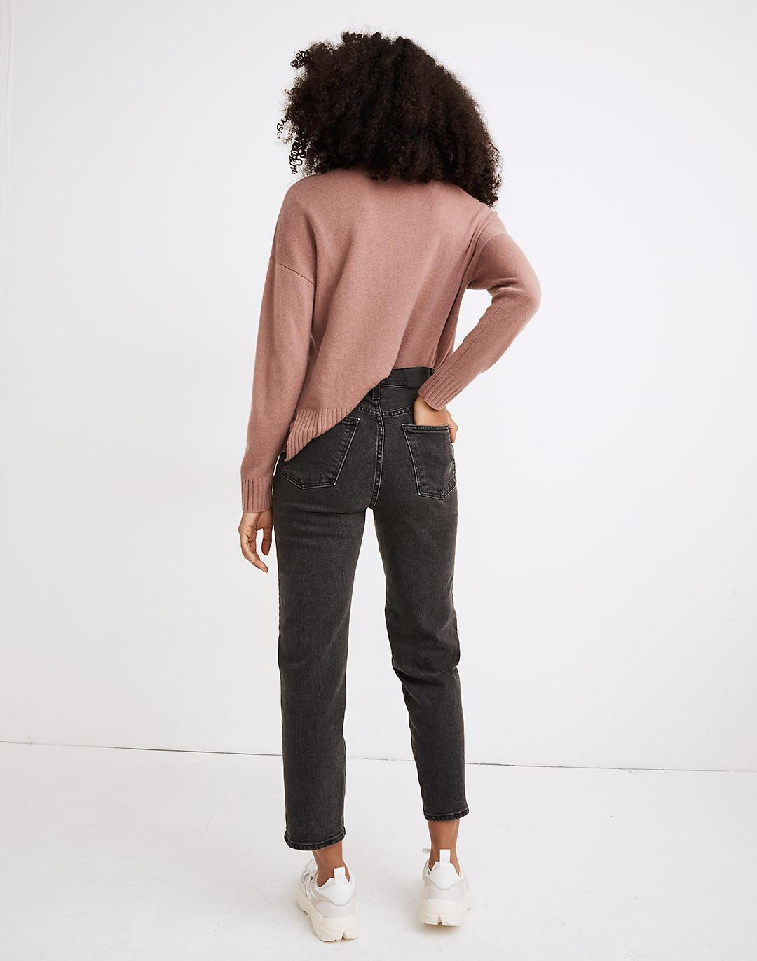 The Tall Perfect Vintage Straight Crop Jean in Lunar Wash