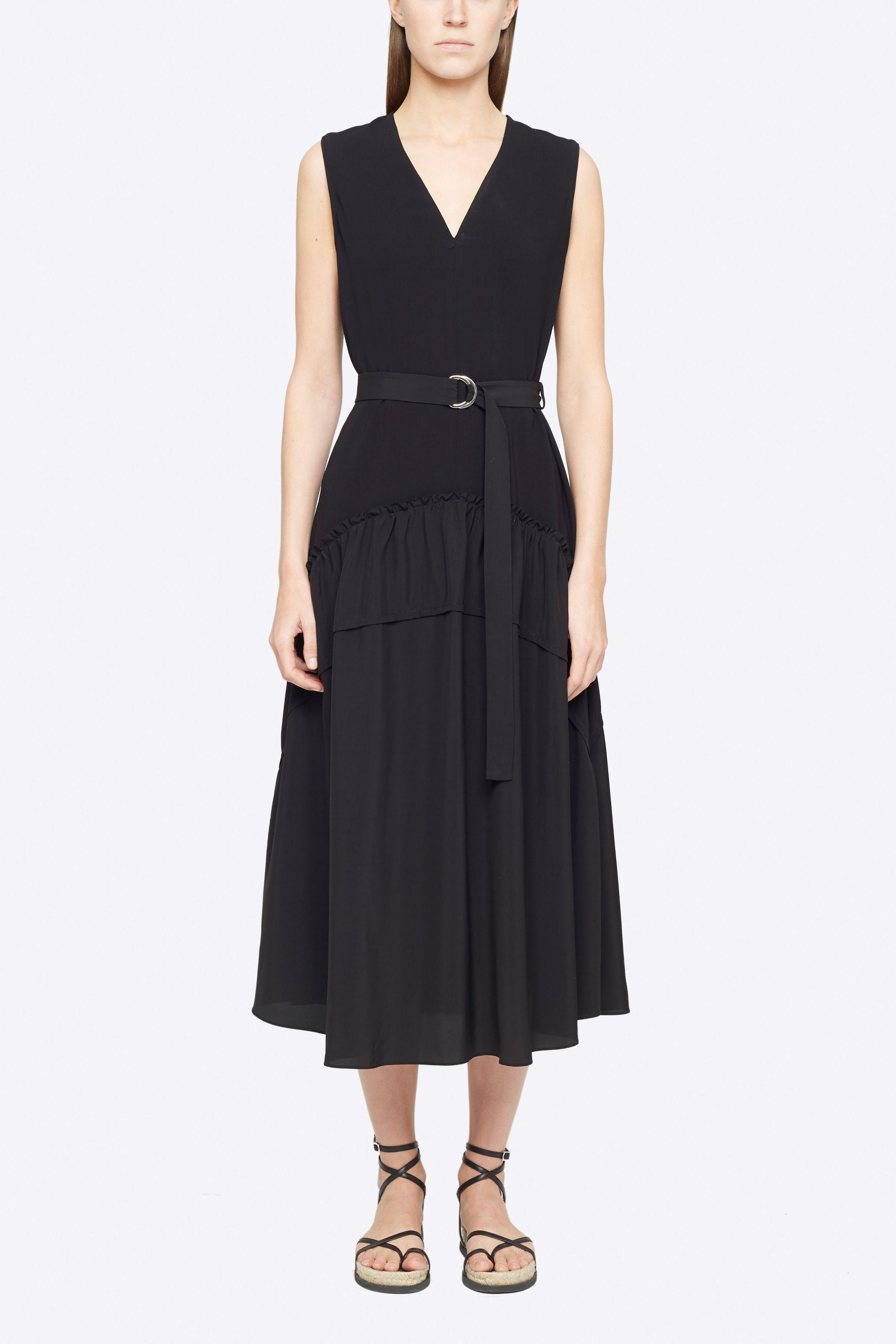 Tank Dress With Shirred Skirt
