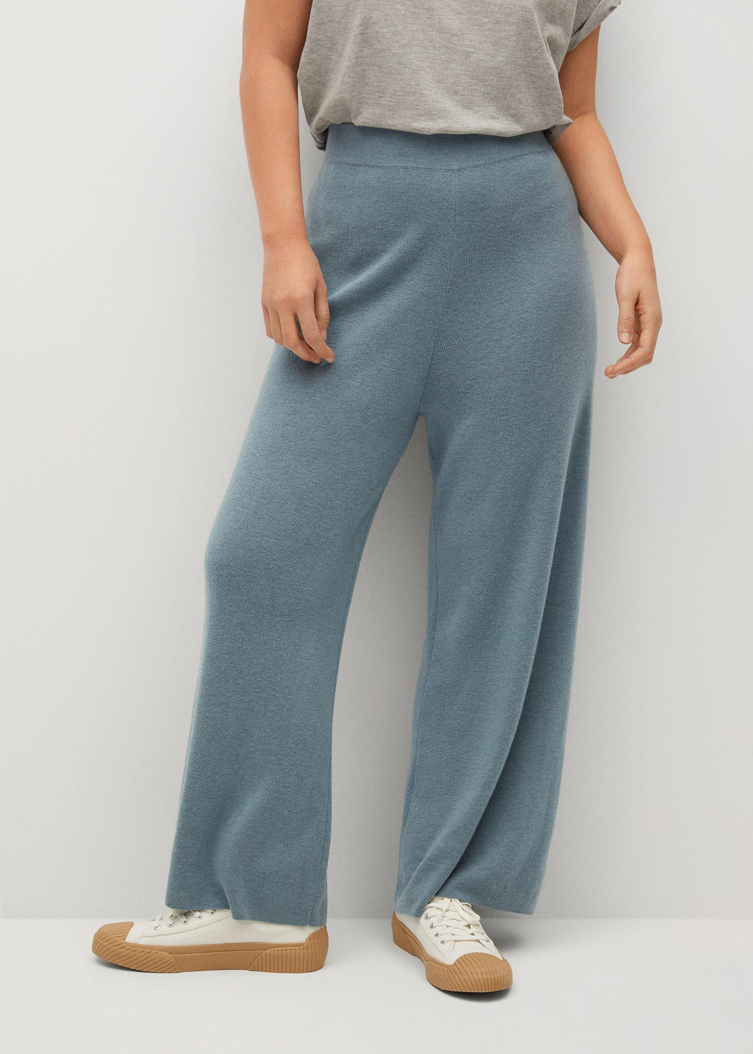 Knitted culotte trousers 1