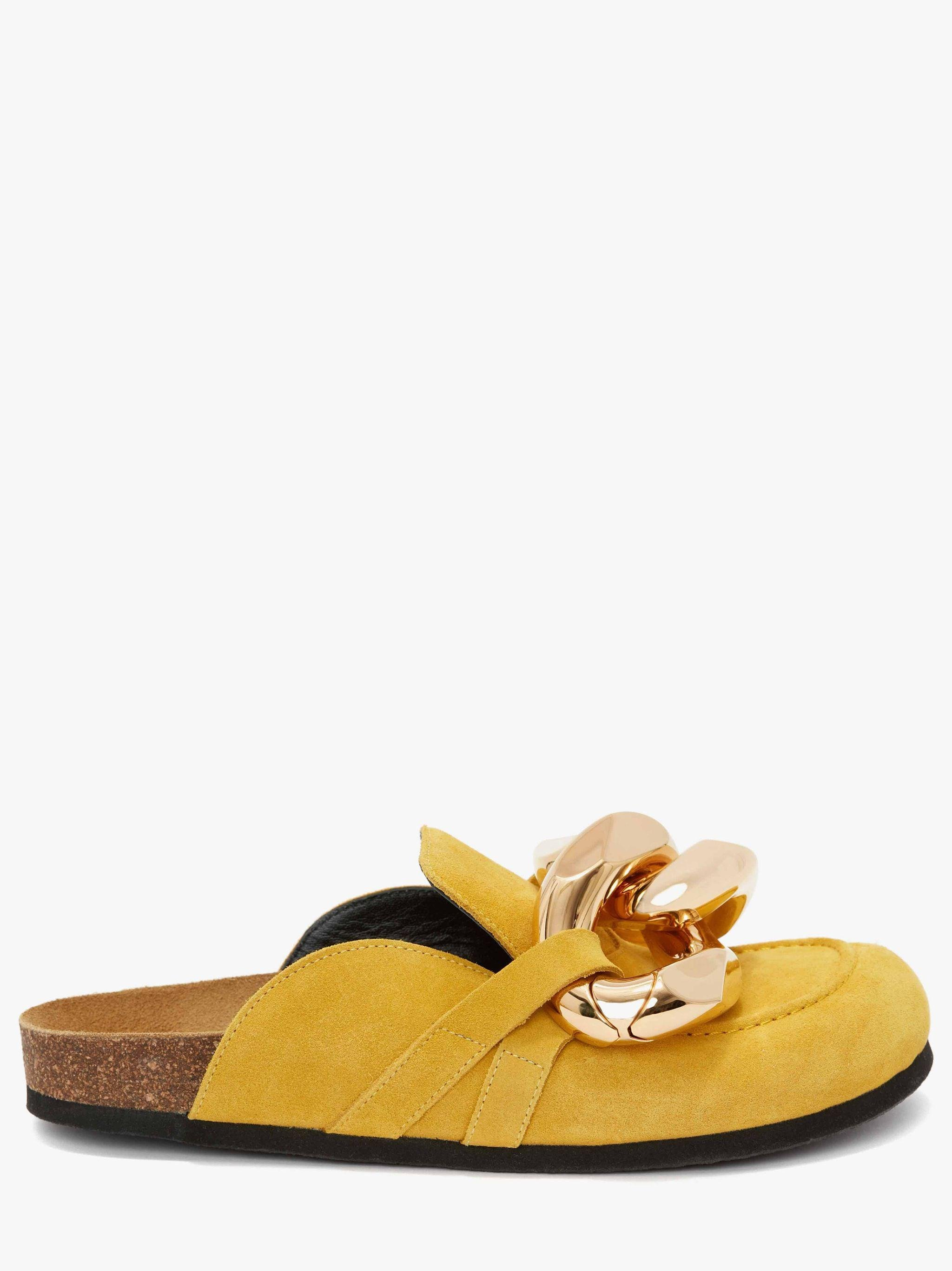 MEN'S CHAIN LOAFER MULES