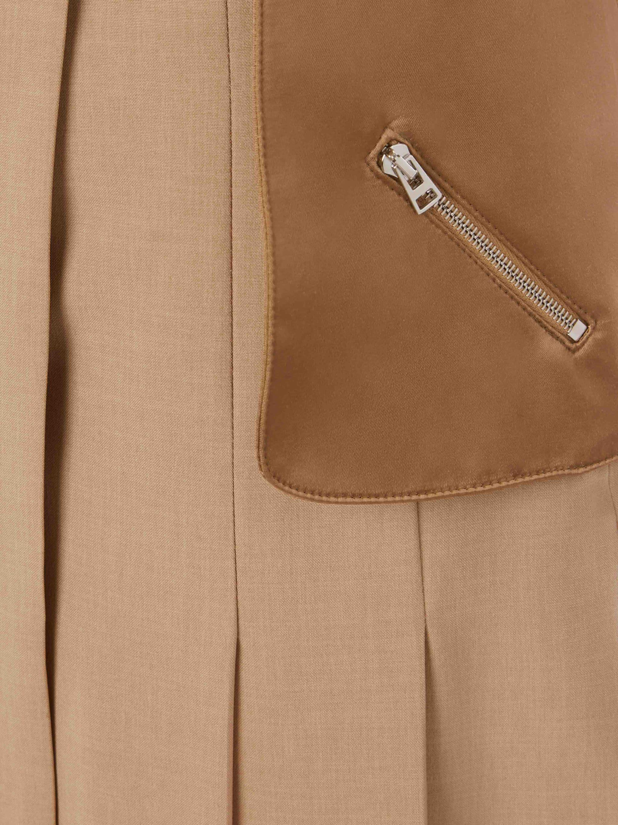 PLEATED SKIRT TROUSERS 4