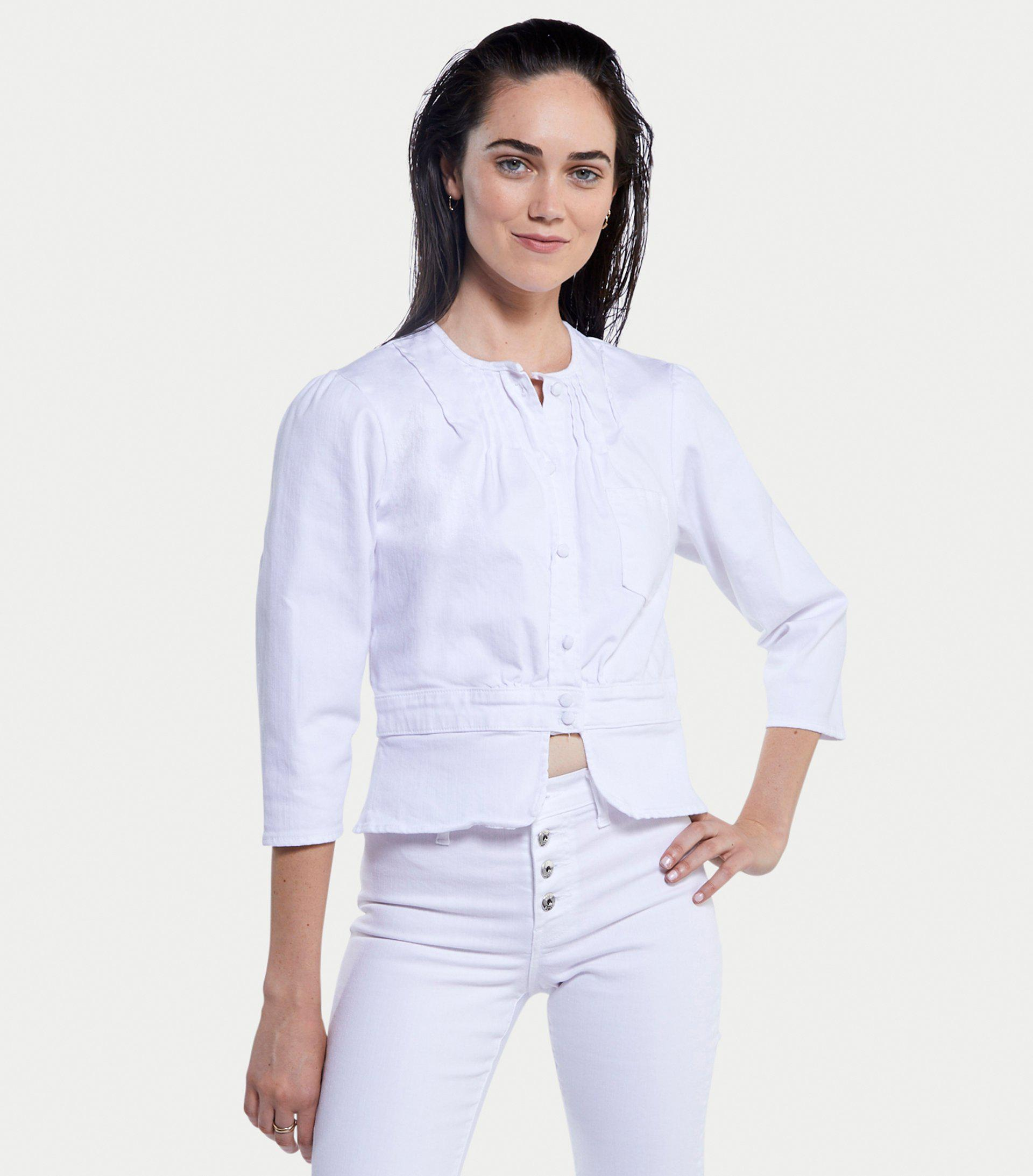 Prudence Jacket in Blanc