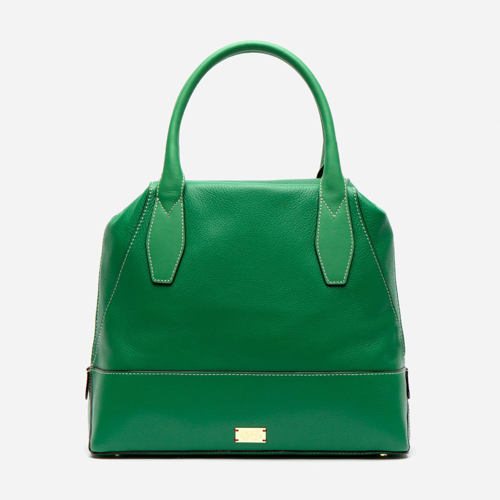 Abby Tote Tumbled Leather Green