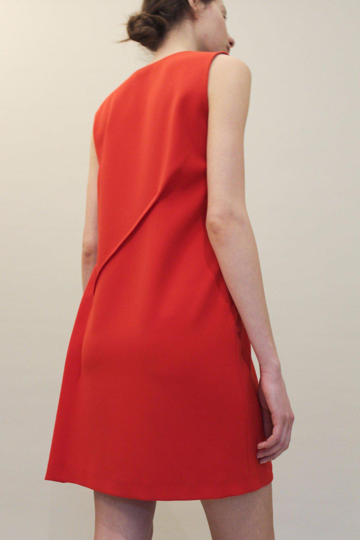 Mattie Inside Out Dress Red - SPECIAL PRICE