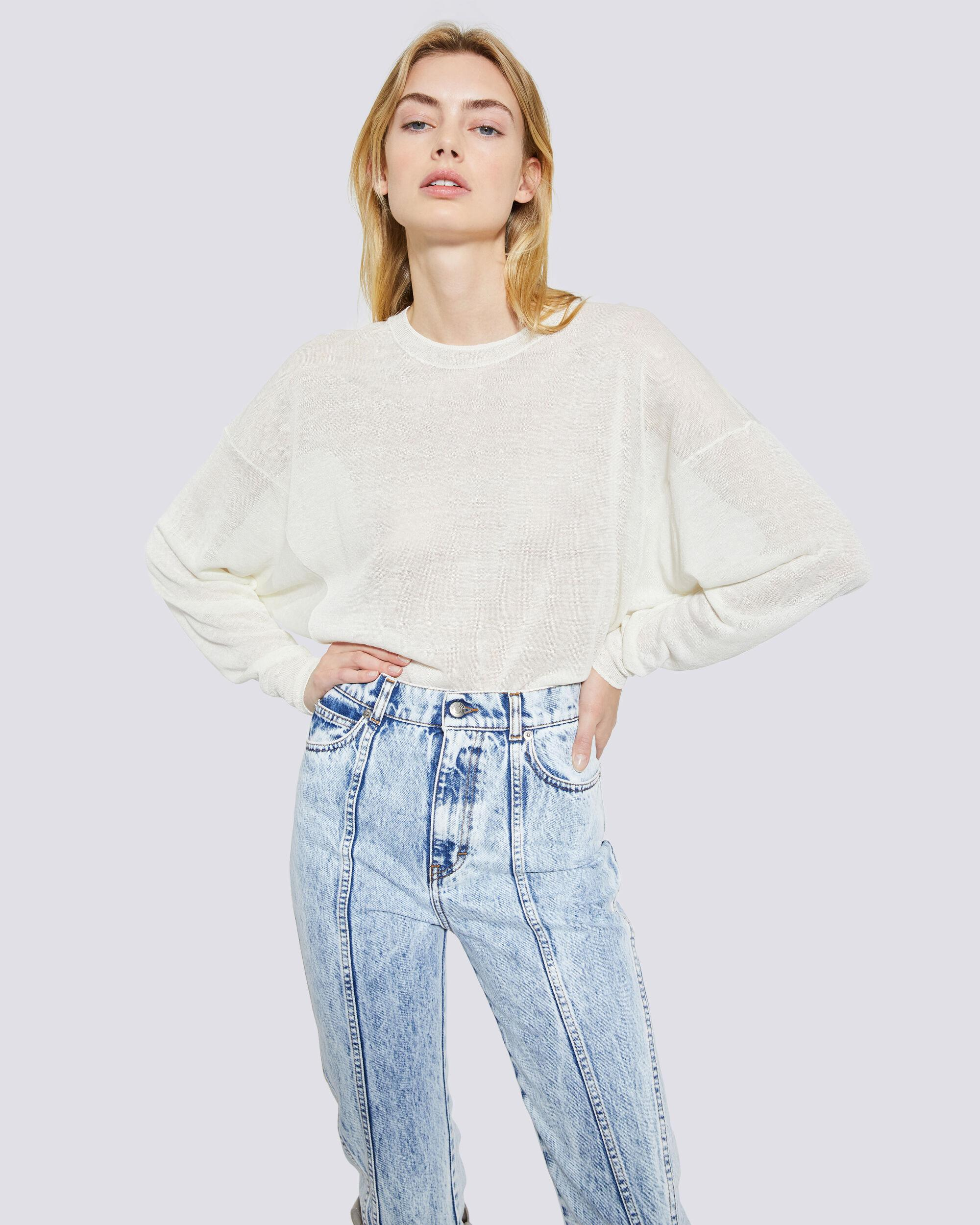 EUGENIE RELAXED CREW NECK SWEATER