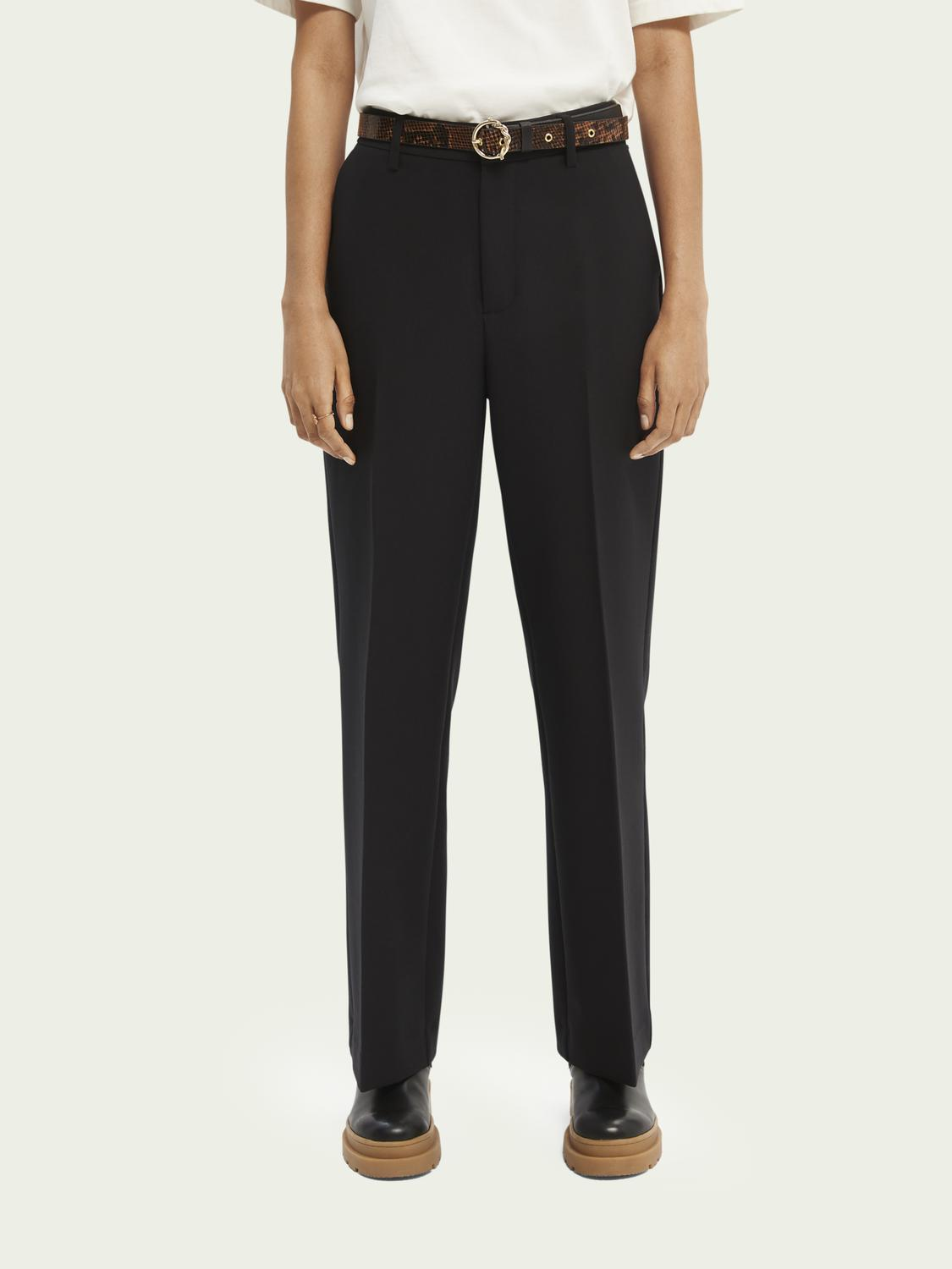 Edie tailored wide-leg trousers