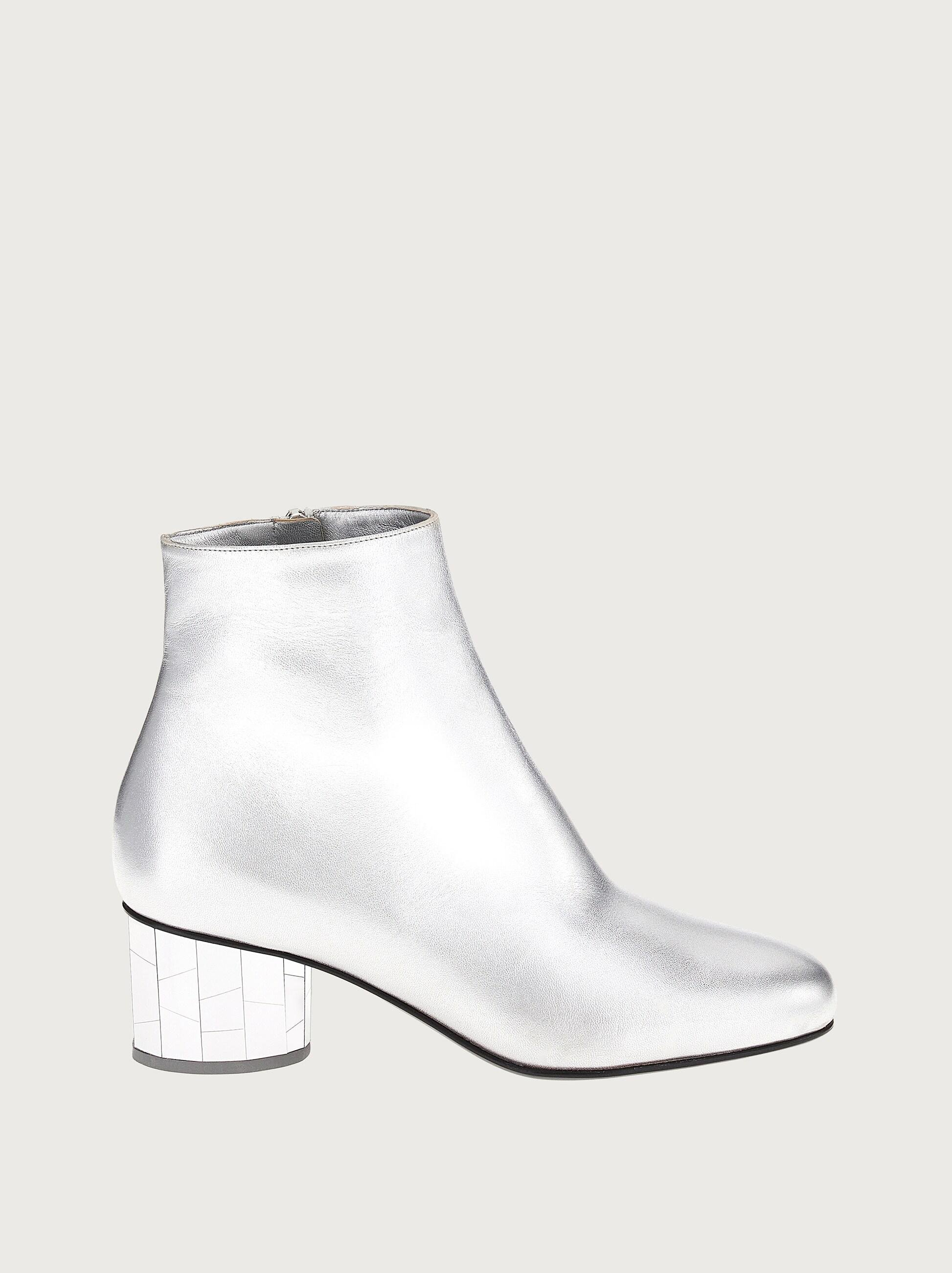 MIRRORED HEEL ANKLE BOOT