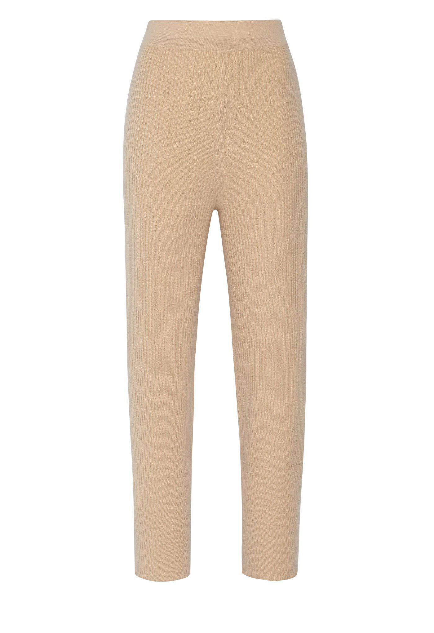 CASHMERE RIBBED PANT