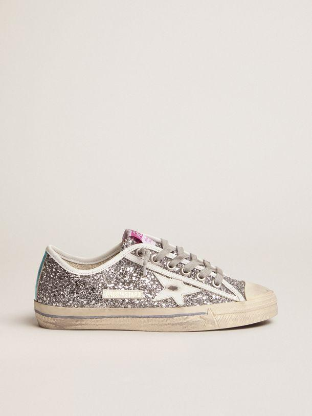 V-Star sneakers with silver glitter