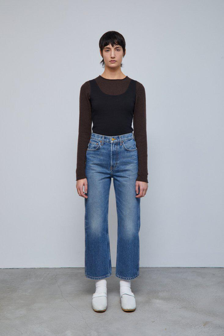 Plein Relaxed Straight Jean Reese Vintage