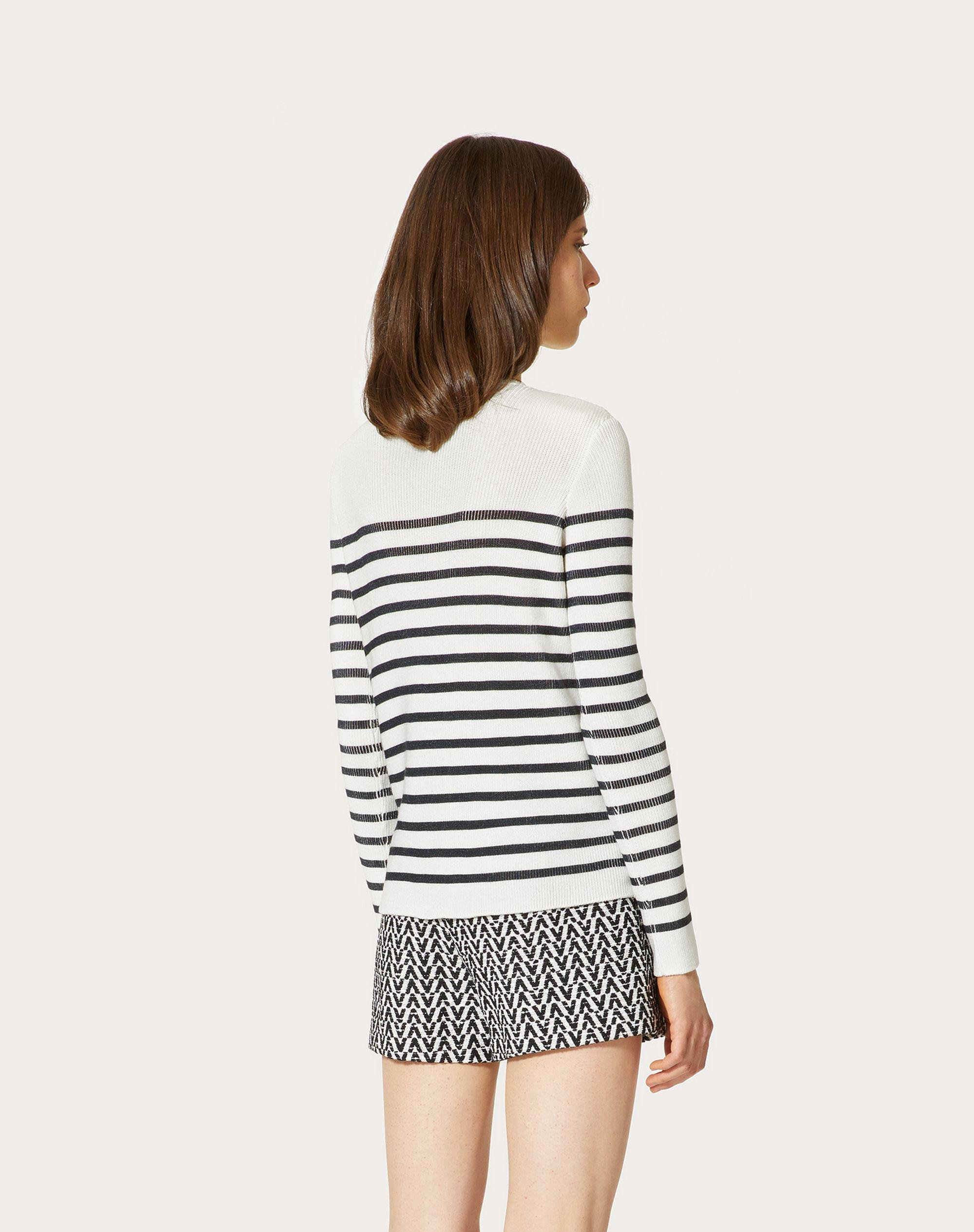 EMBROIDERED COTTON SWEATER 2