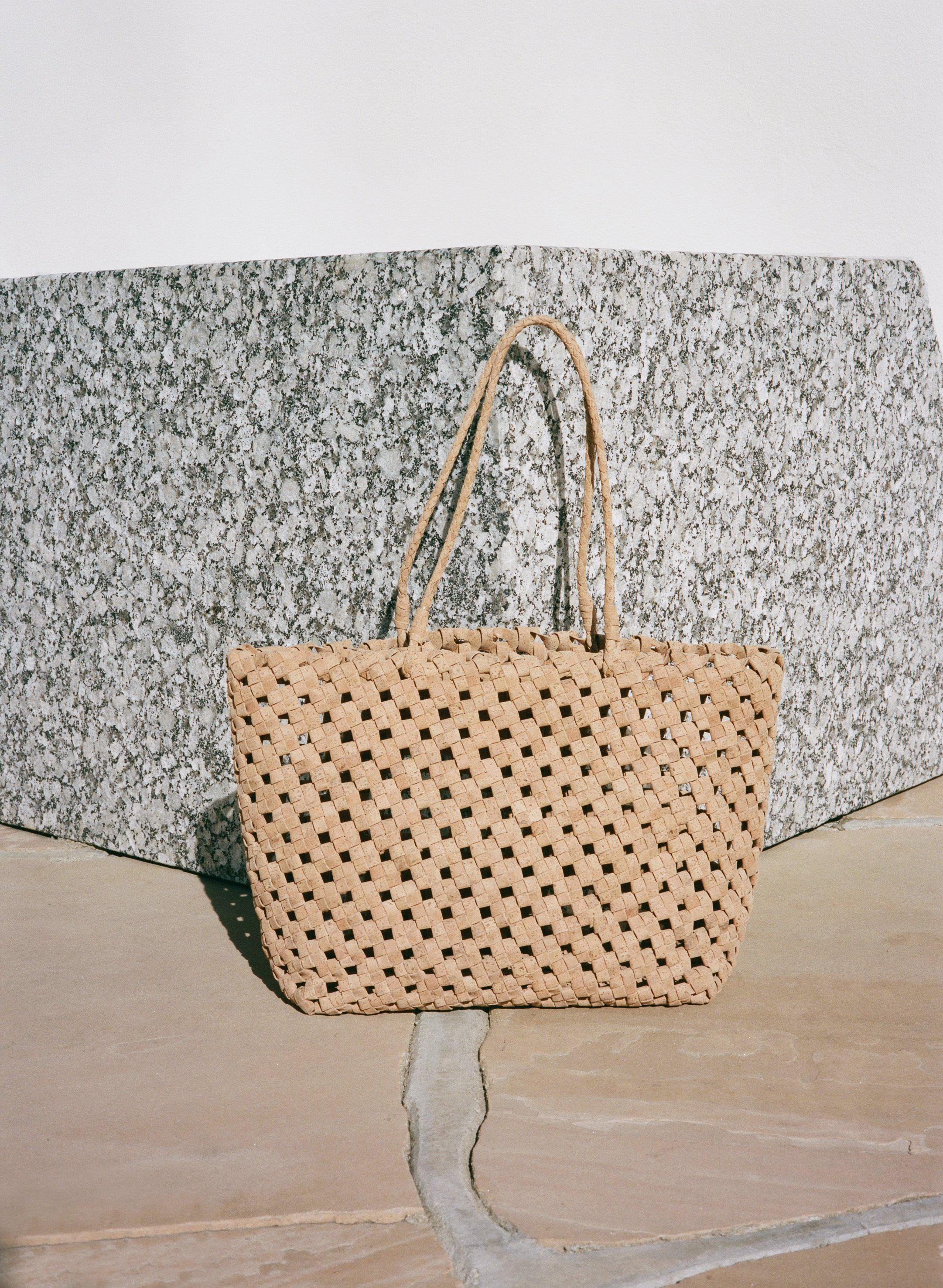Vegan Cork Knotted Tote 5