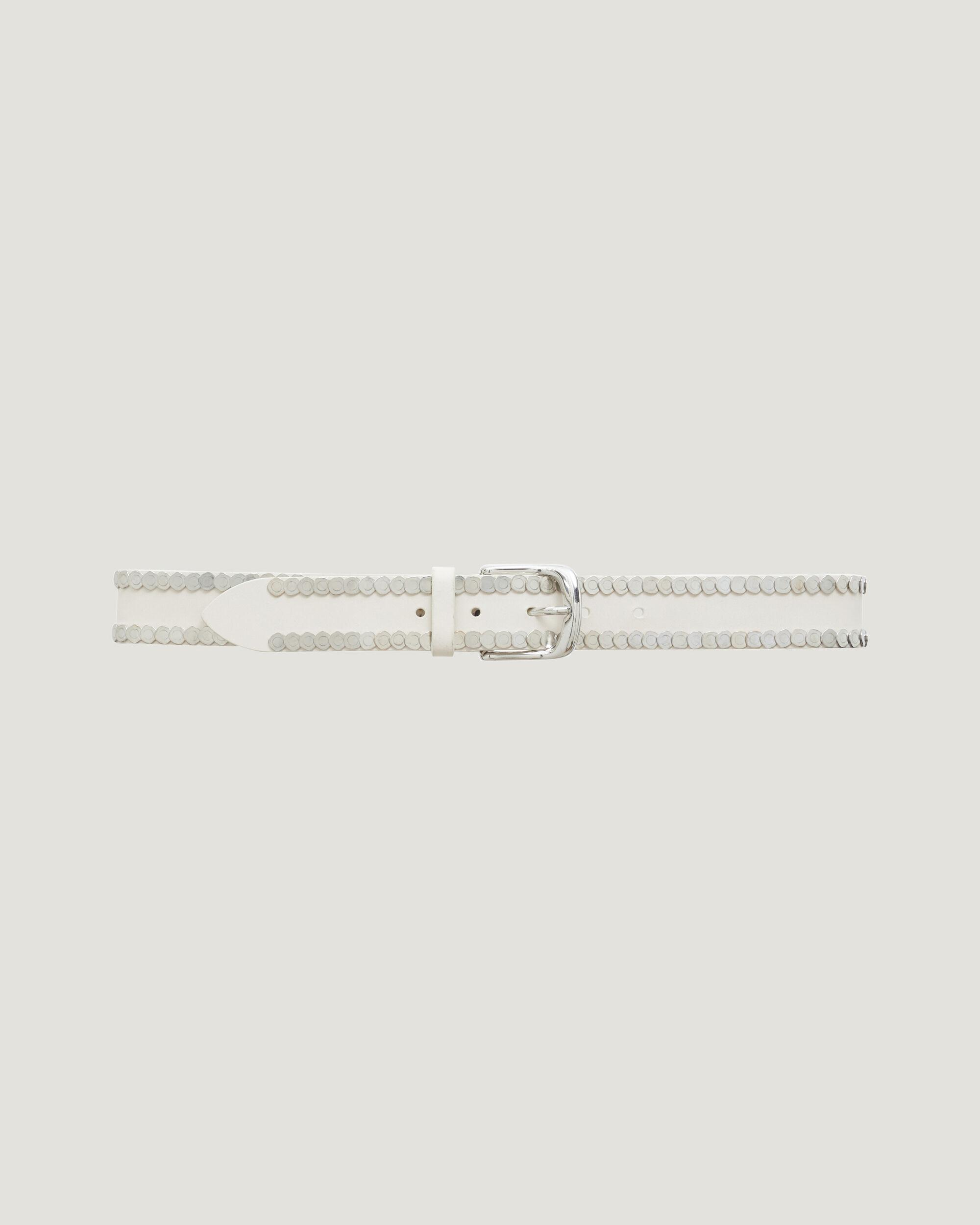 BHAKI SILVER COIN EMBELLISHED BELT