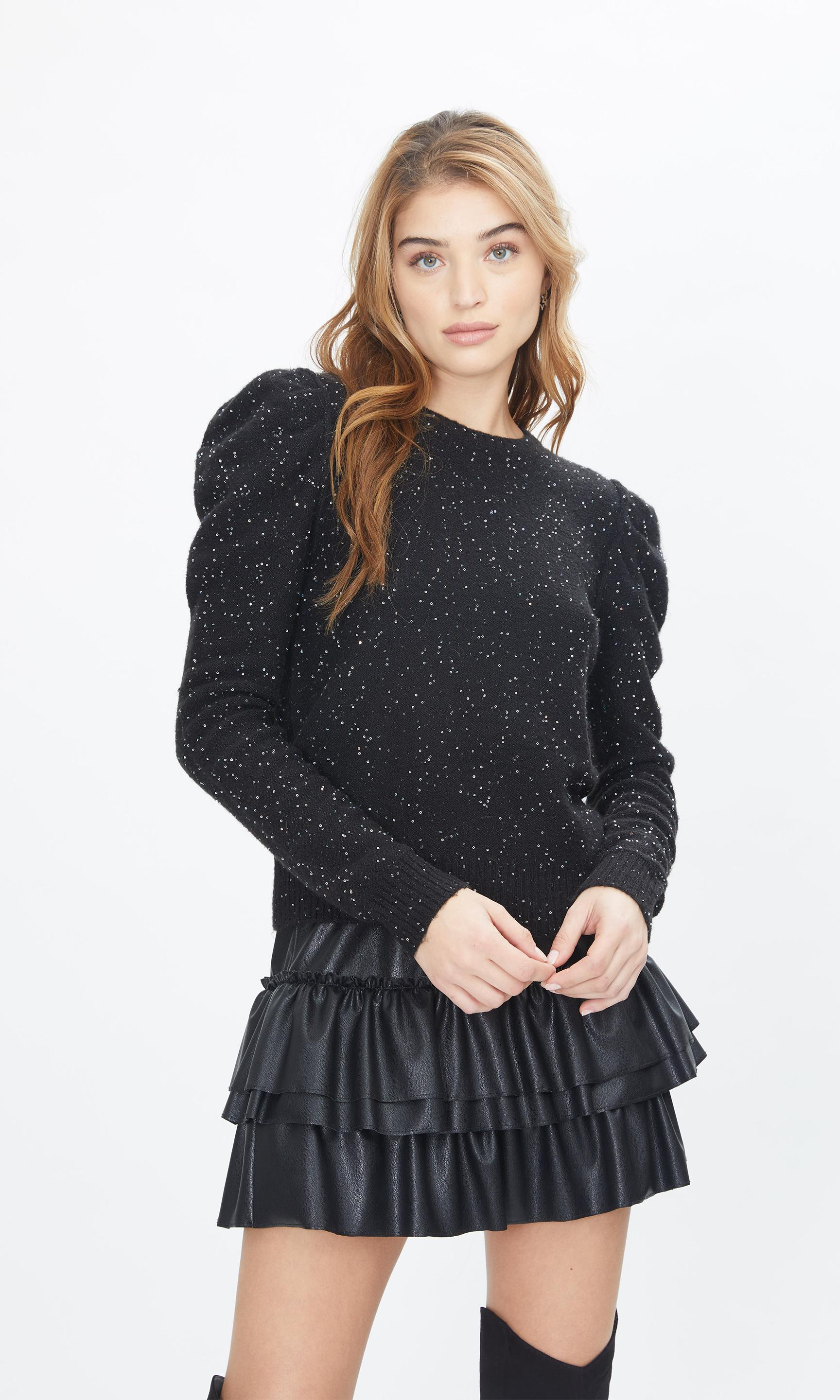 Tinsley Sequin Sweater 5