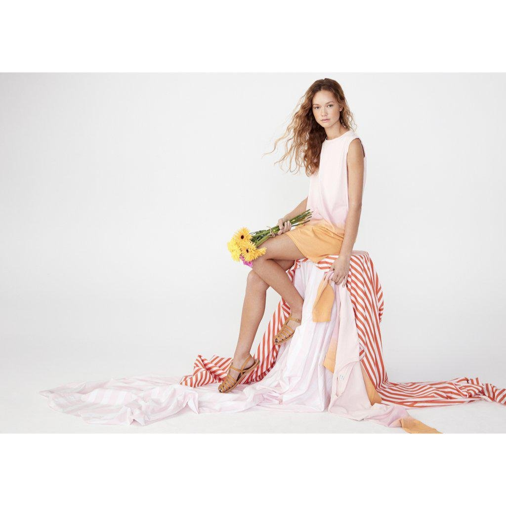 The Organic Ombre Ivy - Pink/Gold 2