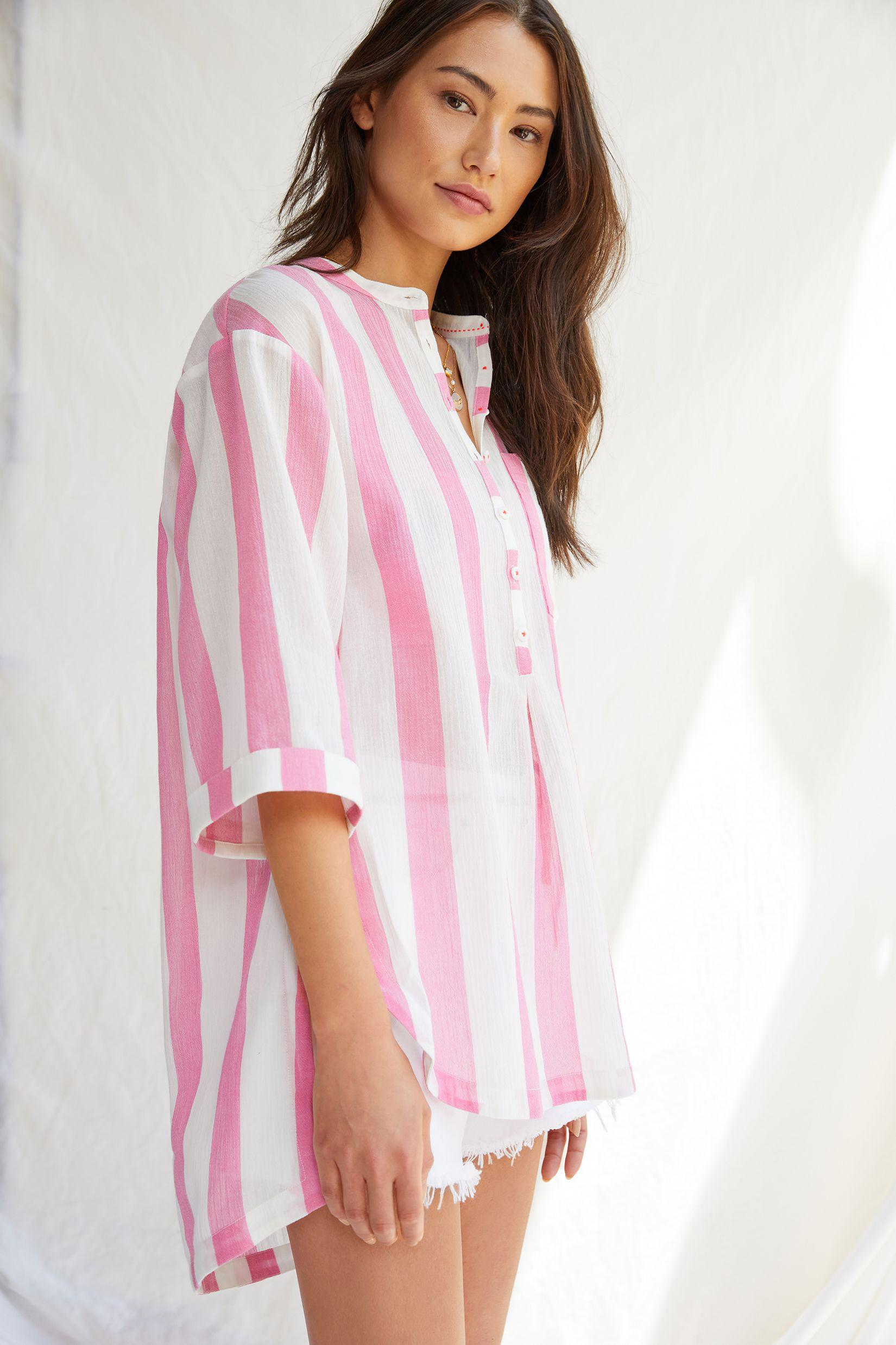 Maeve High-Low Tunic Blouse 2