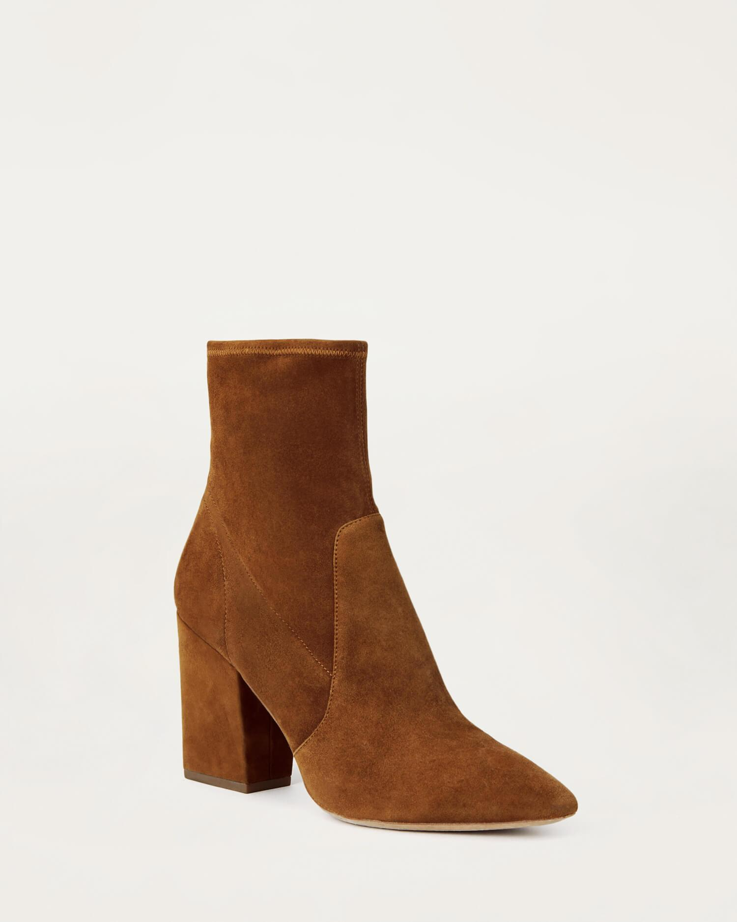 Isla Slim Ankle Bootie Cacao